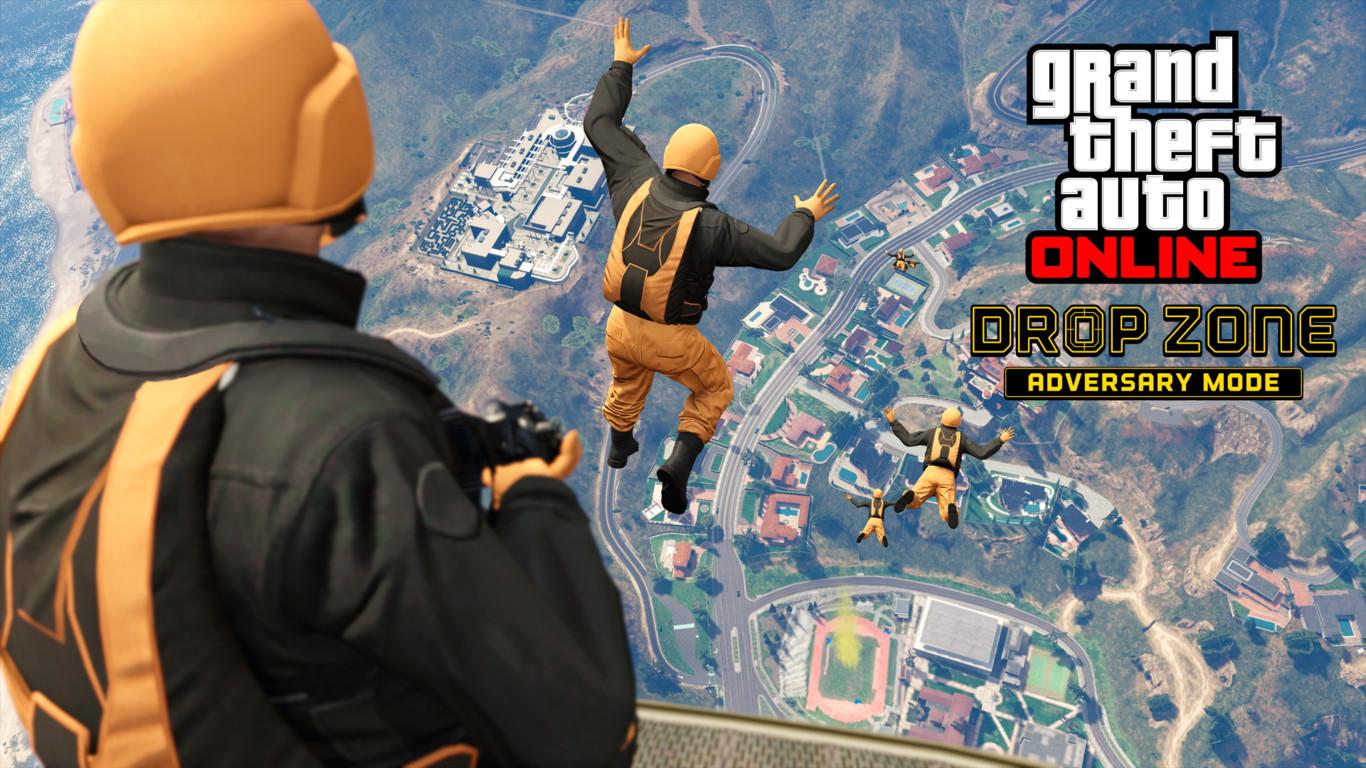 gta v online drop zone