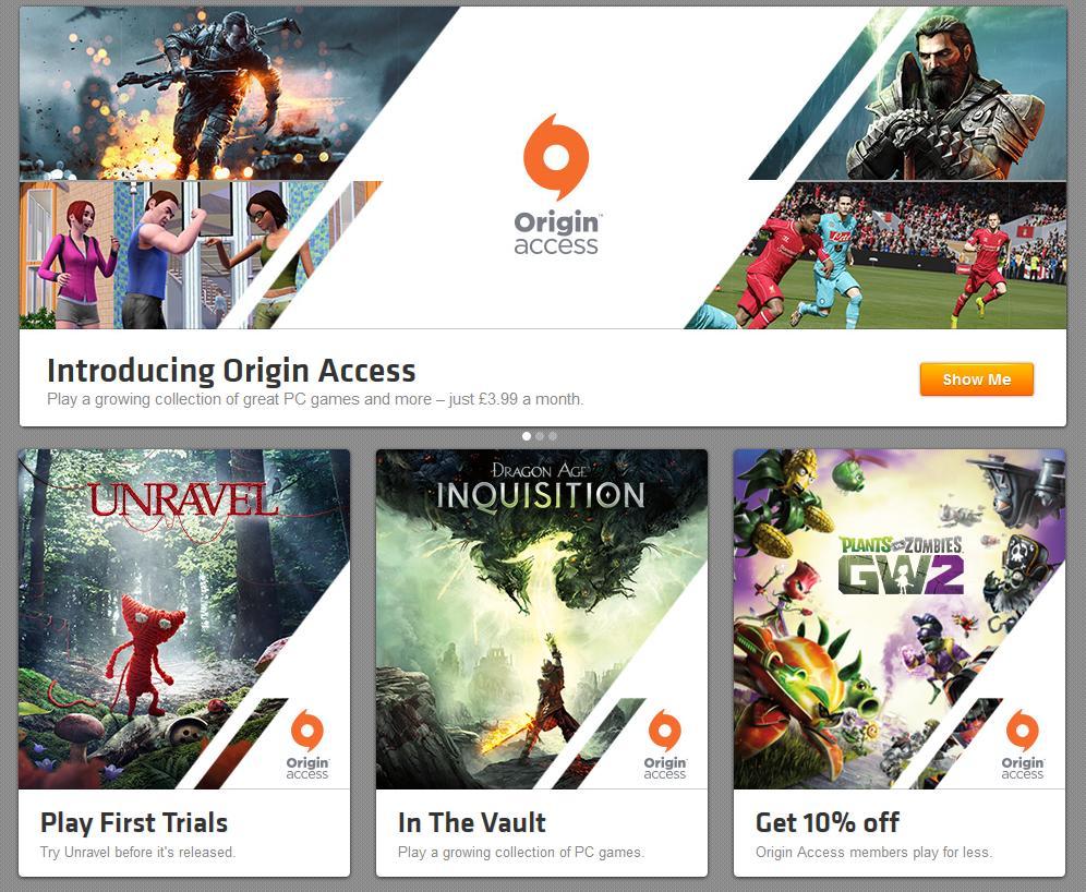 origin access 3