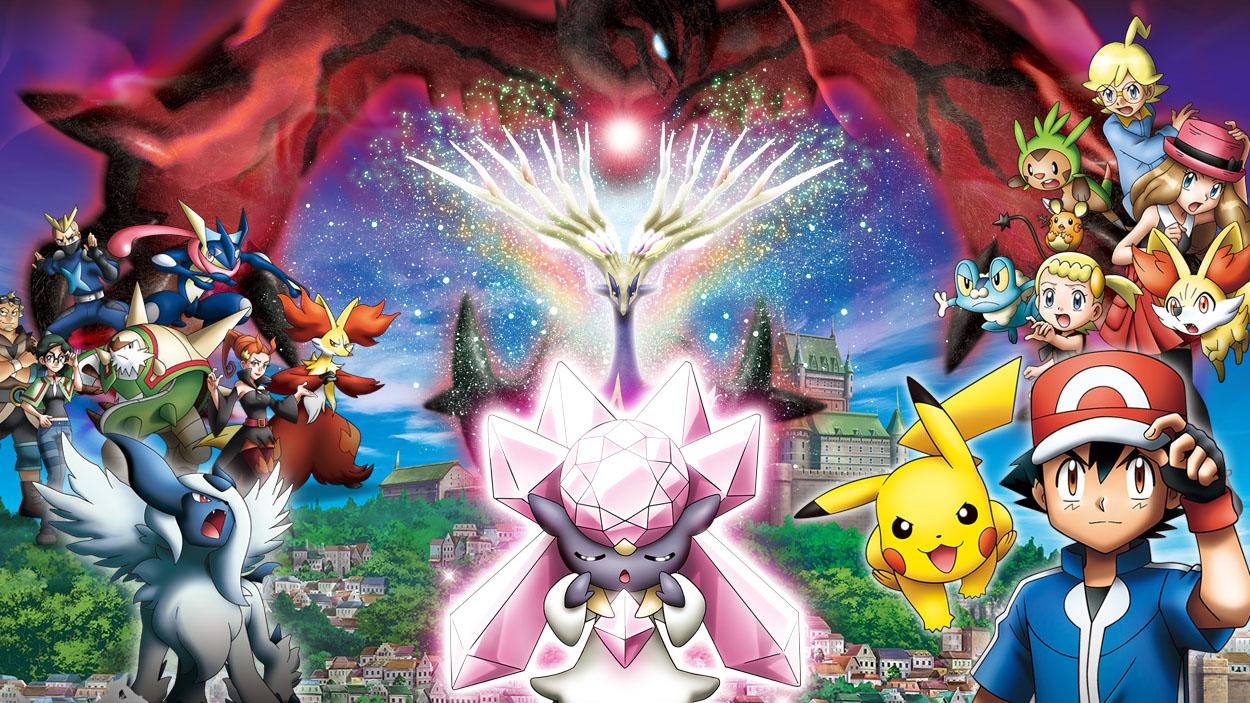 netflix - Pokémon - Diancie y la Crisálida de la destrucción