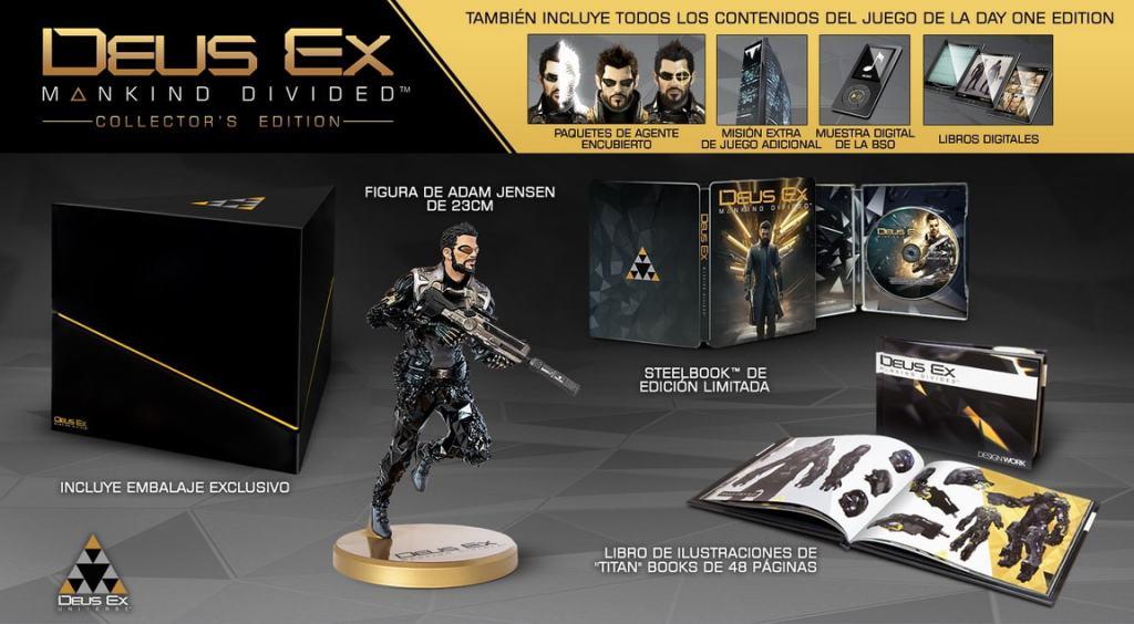 Deus Ex Mankind Divided colecciones