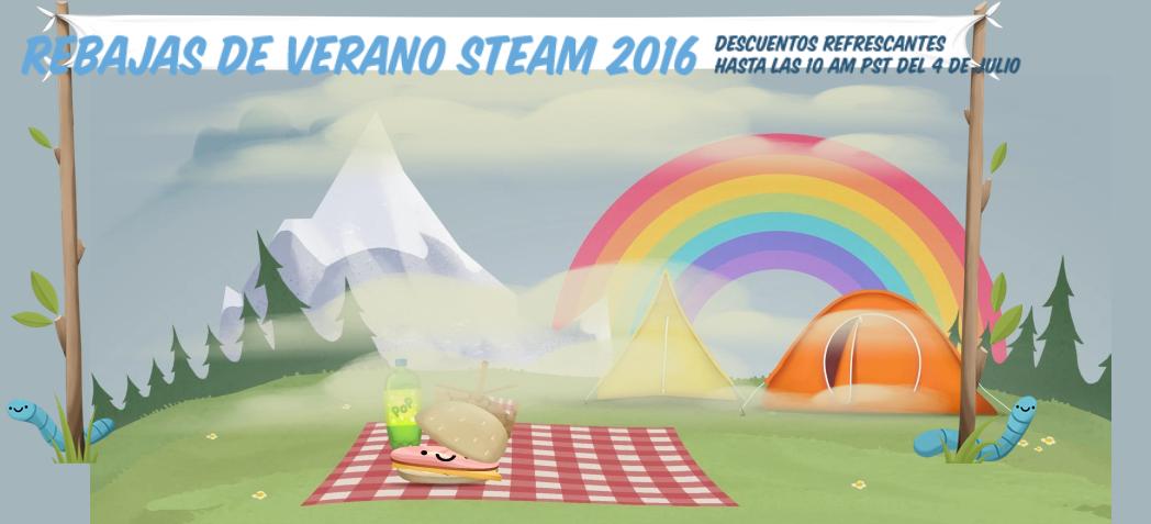 rebajas de verano steam 2016