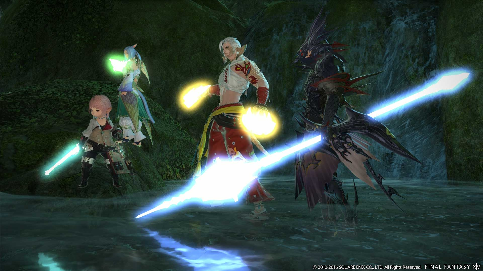Final Fantasy XIV parche 3.35 2