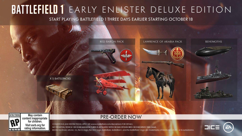 Early Enlister Battlefield 1