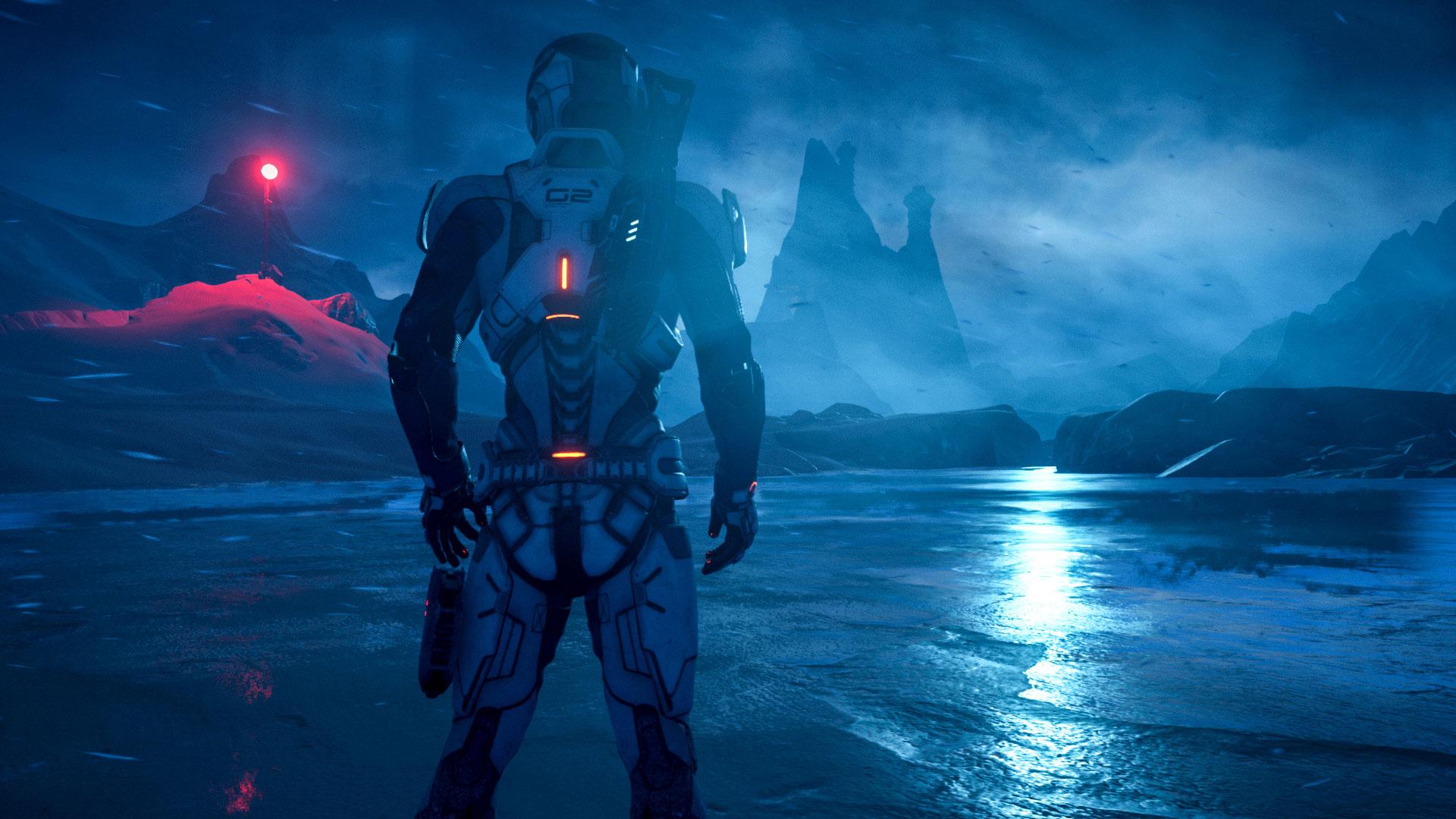 Andromeda a 4K | Mass Effect Andromeda con el parche 1.05