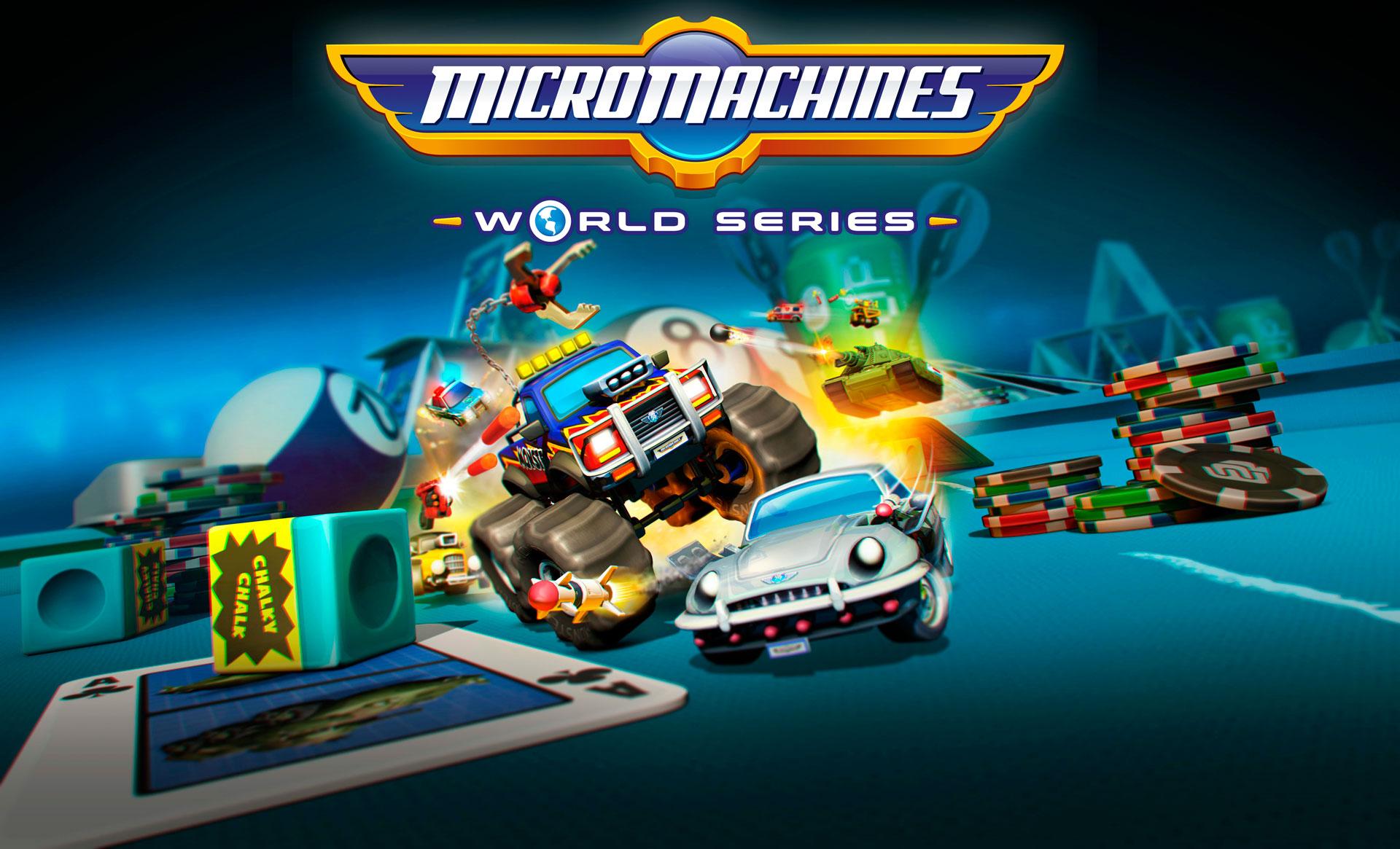 Requisitos de Micro Machines World Series