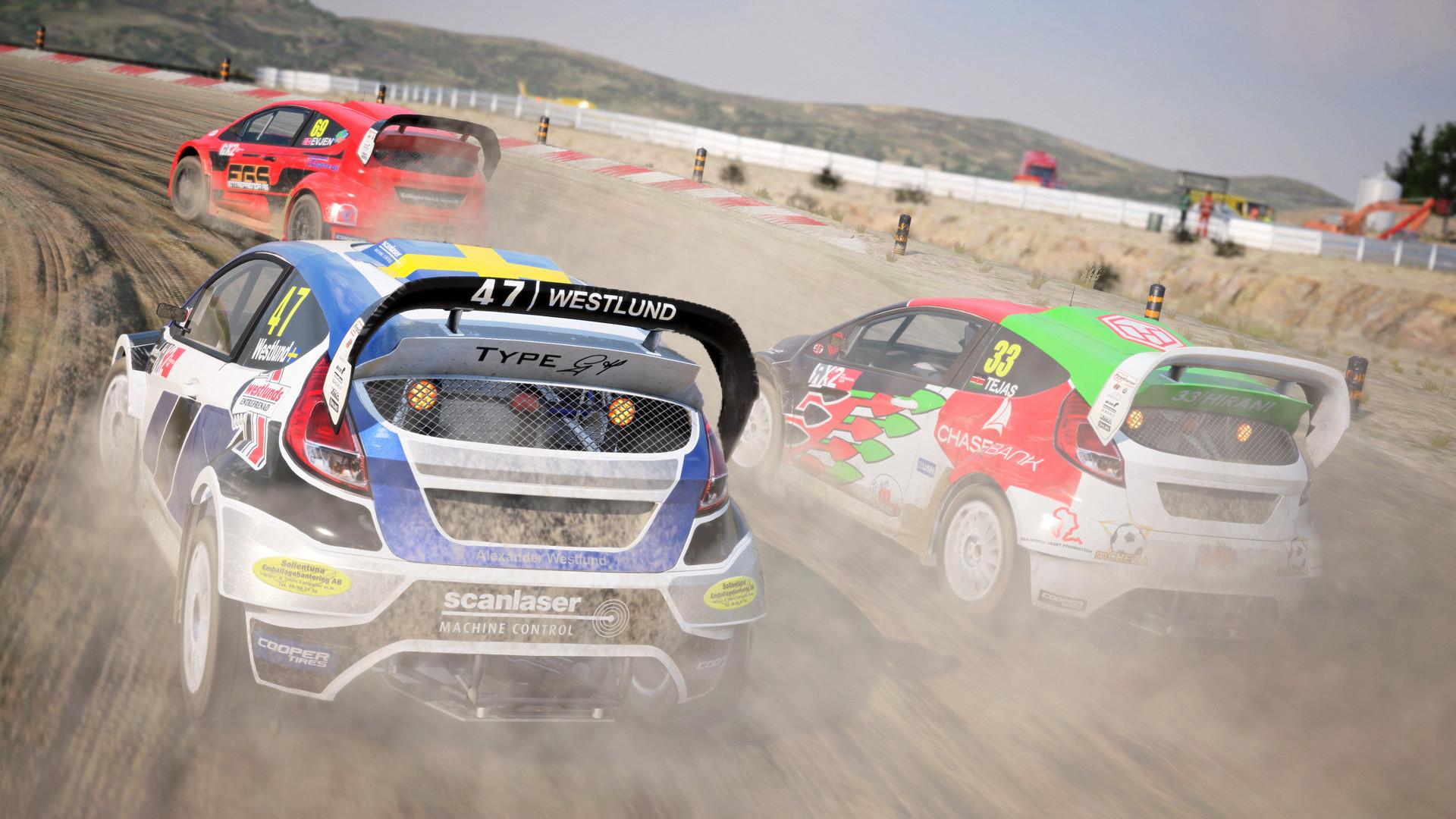 contenido de rallycross