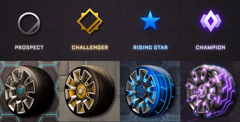 recompensa t3 rocket league