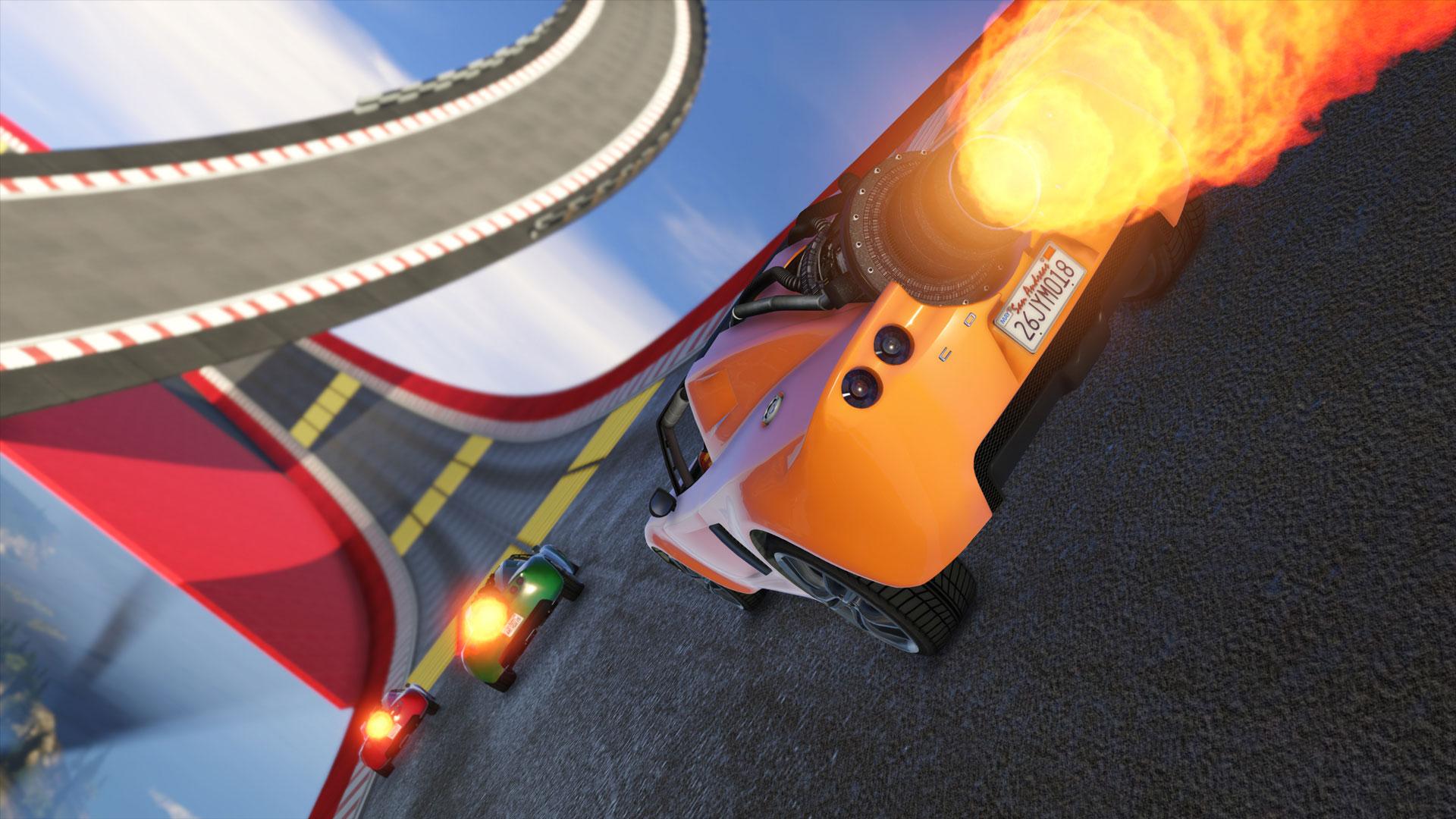 Cunning Stunts: Circuito especial
