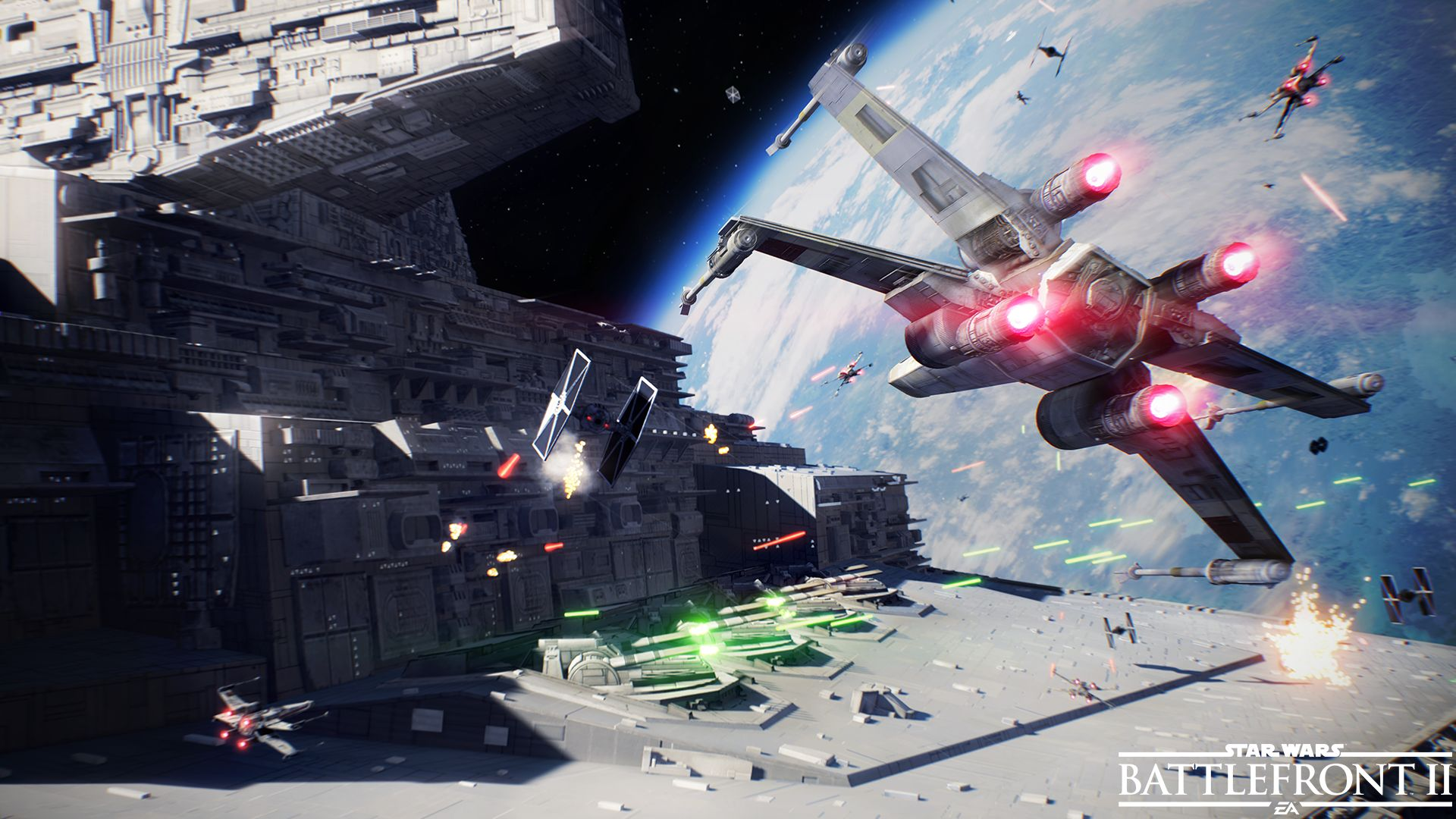 Modos de juego y mapas de Star Wars Battlefront II