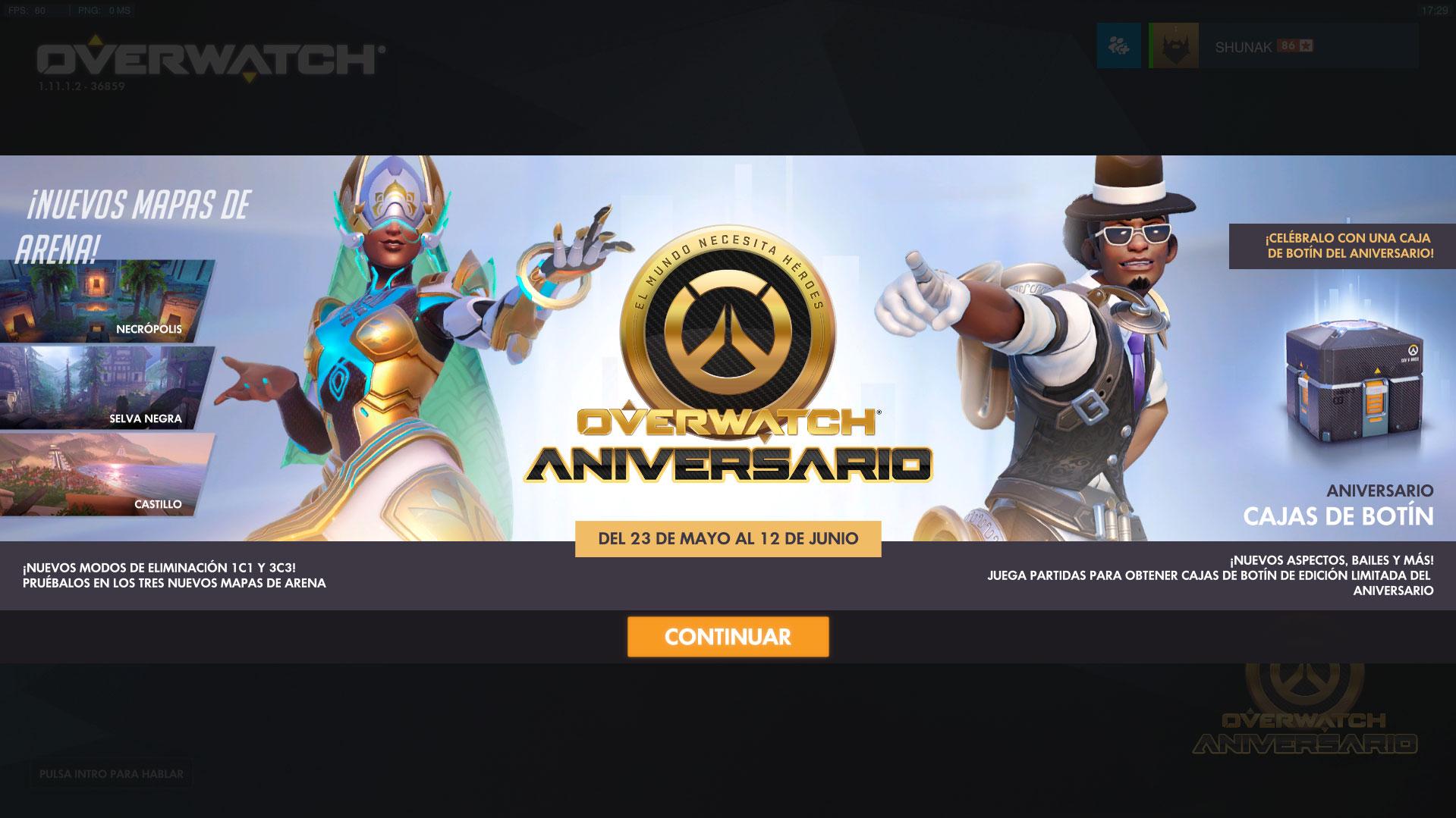 Overwatch: Aniversario