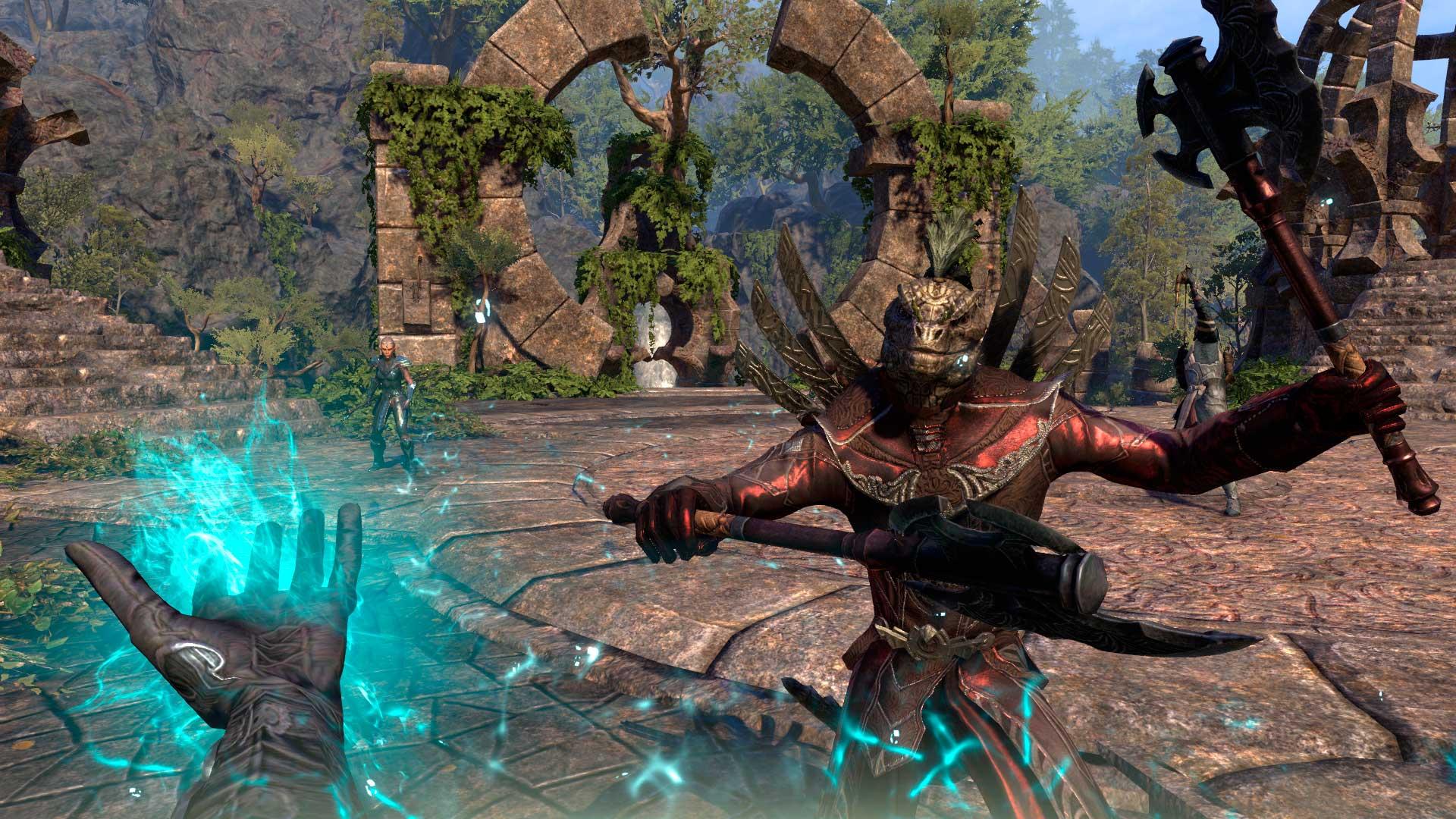 Warden de TESO Morrowind