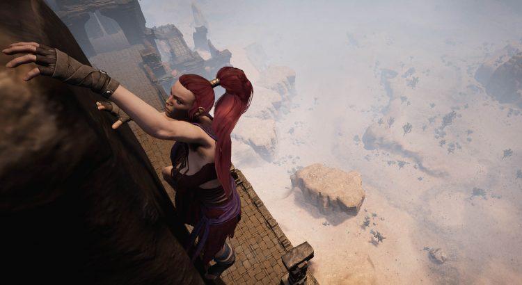 Conan Exiles añade sistema de escalada