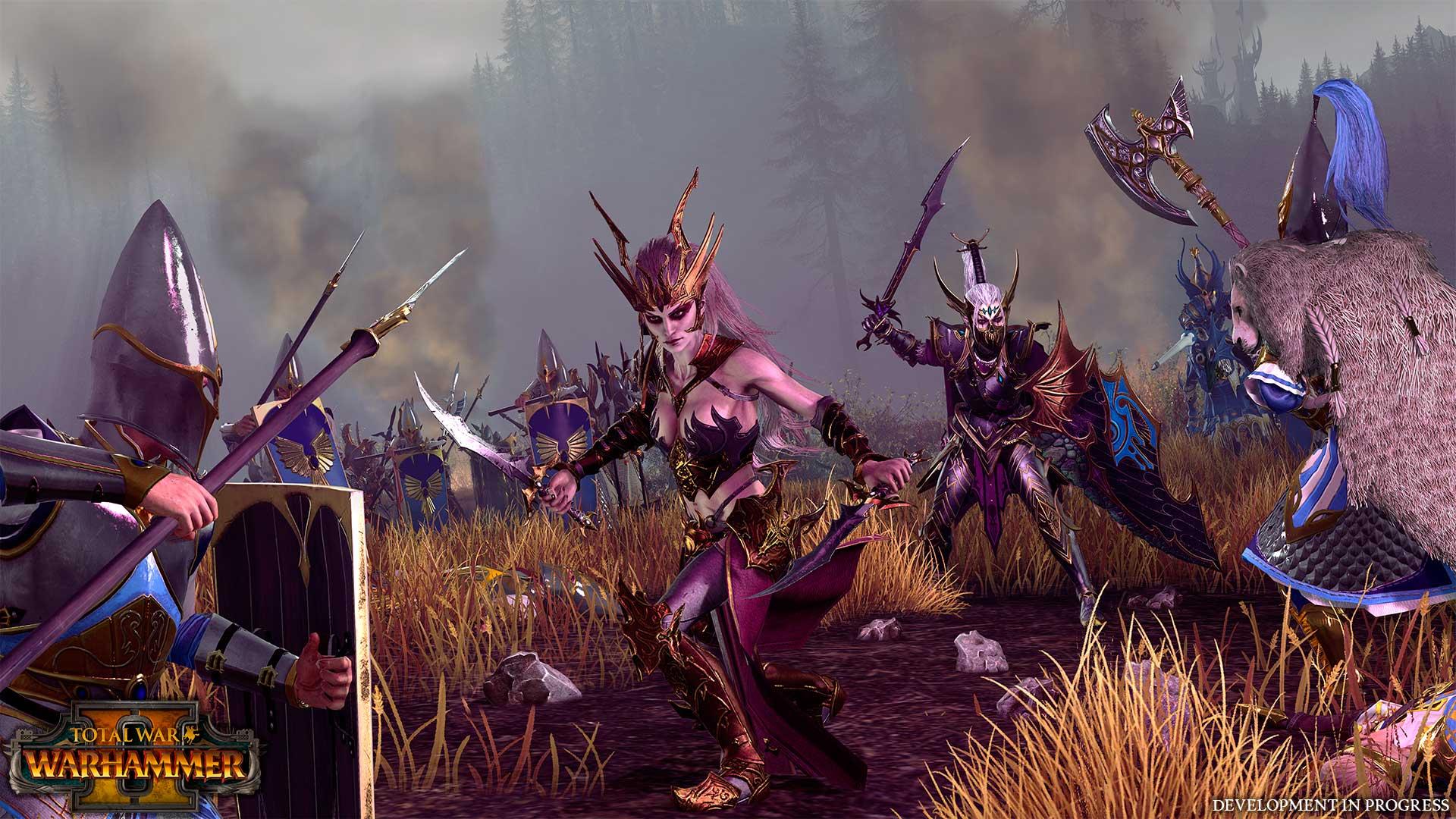 Elfos Oscuros estarán en Total War: WARHAMMER II