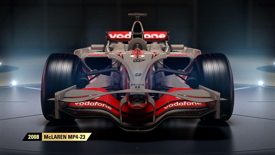 históricos de McLaren que estarán en F1 2017