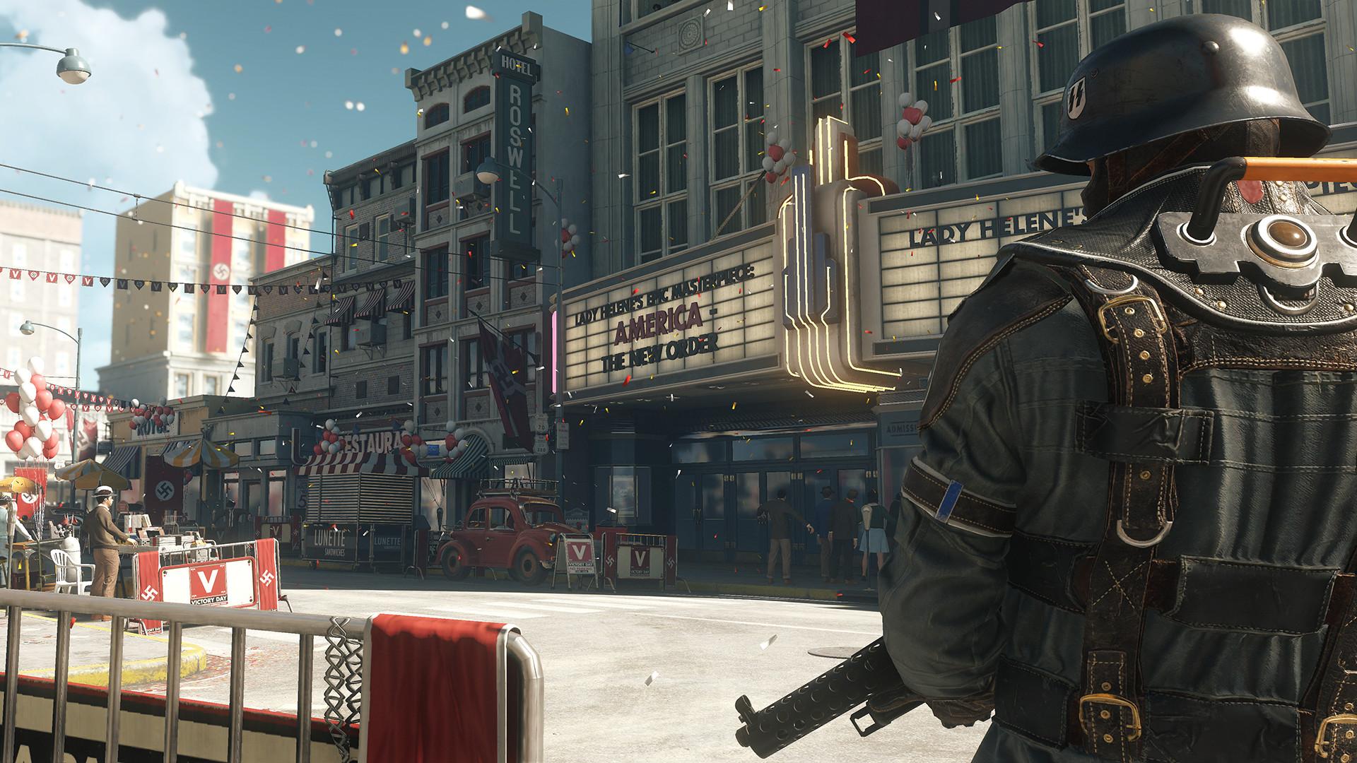 lanzamiento de Wolfenstein II: The New Colossus