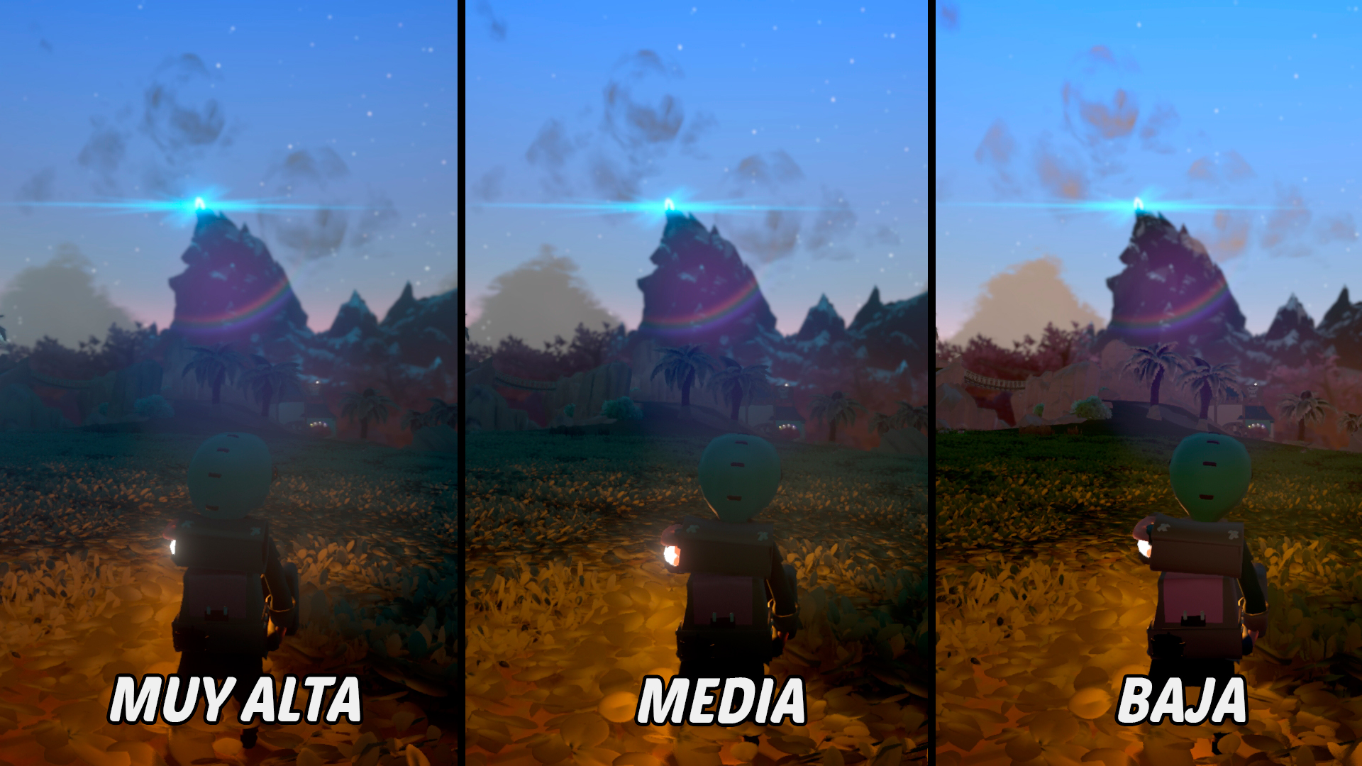 Yonder The Cloud Catcher Chronicles Análisis Comparativa