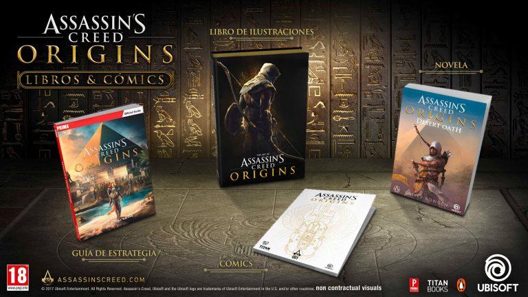 comics sobre Assassin's Creed Origins
