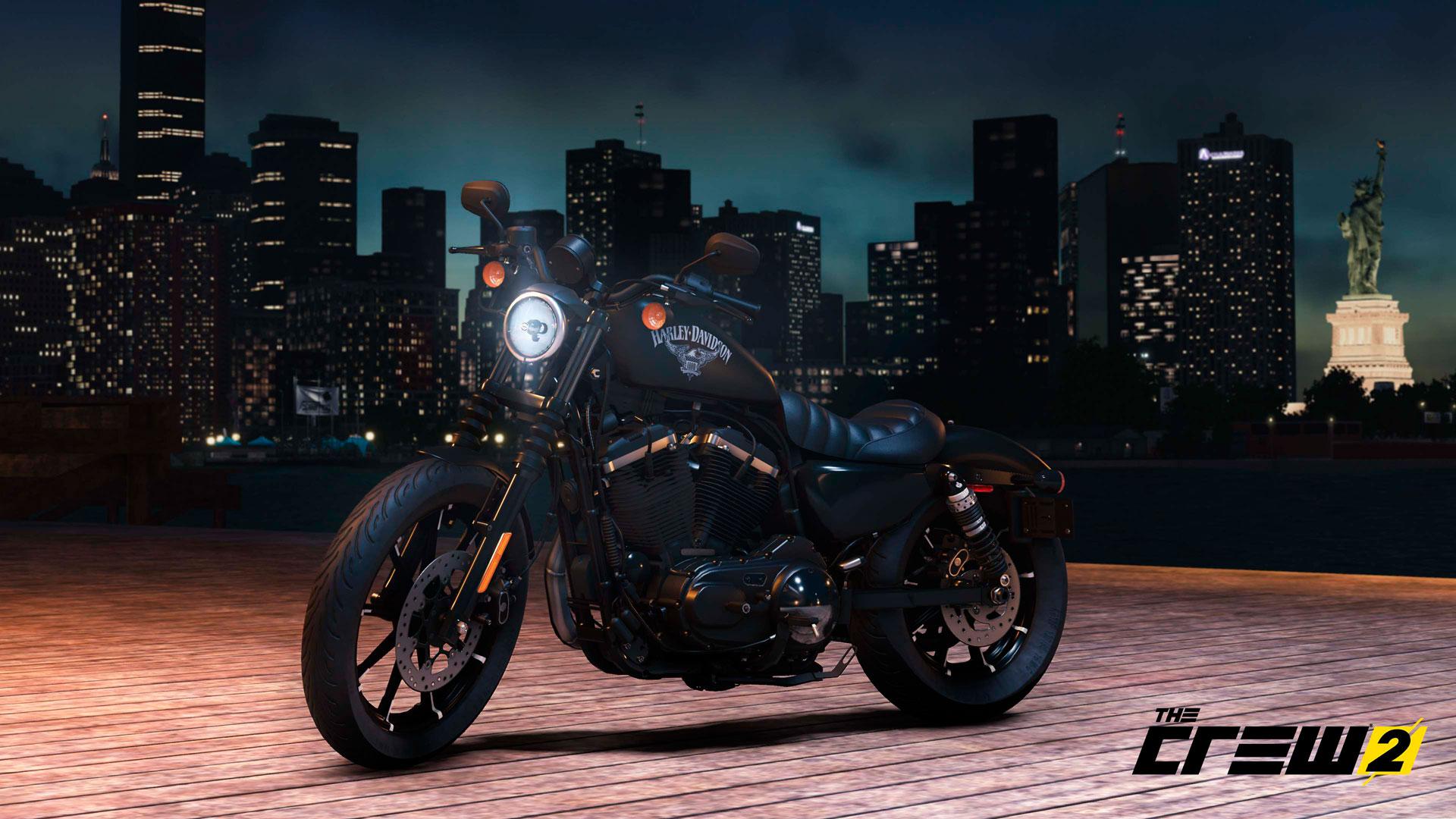 Harley-Davidson estarán disponibles en The Crew 2