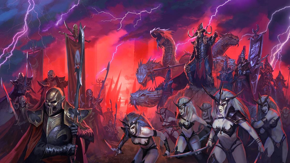 Elfos Total War: WARHAMMER 2