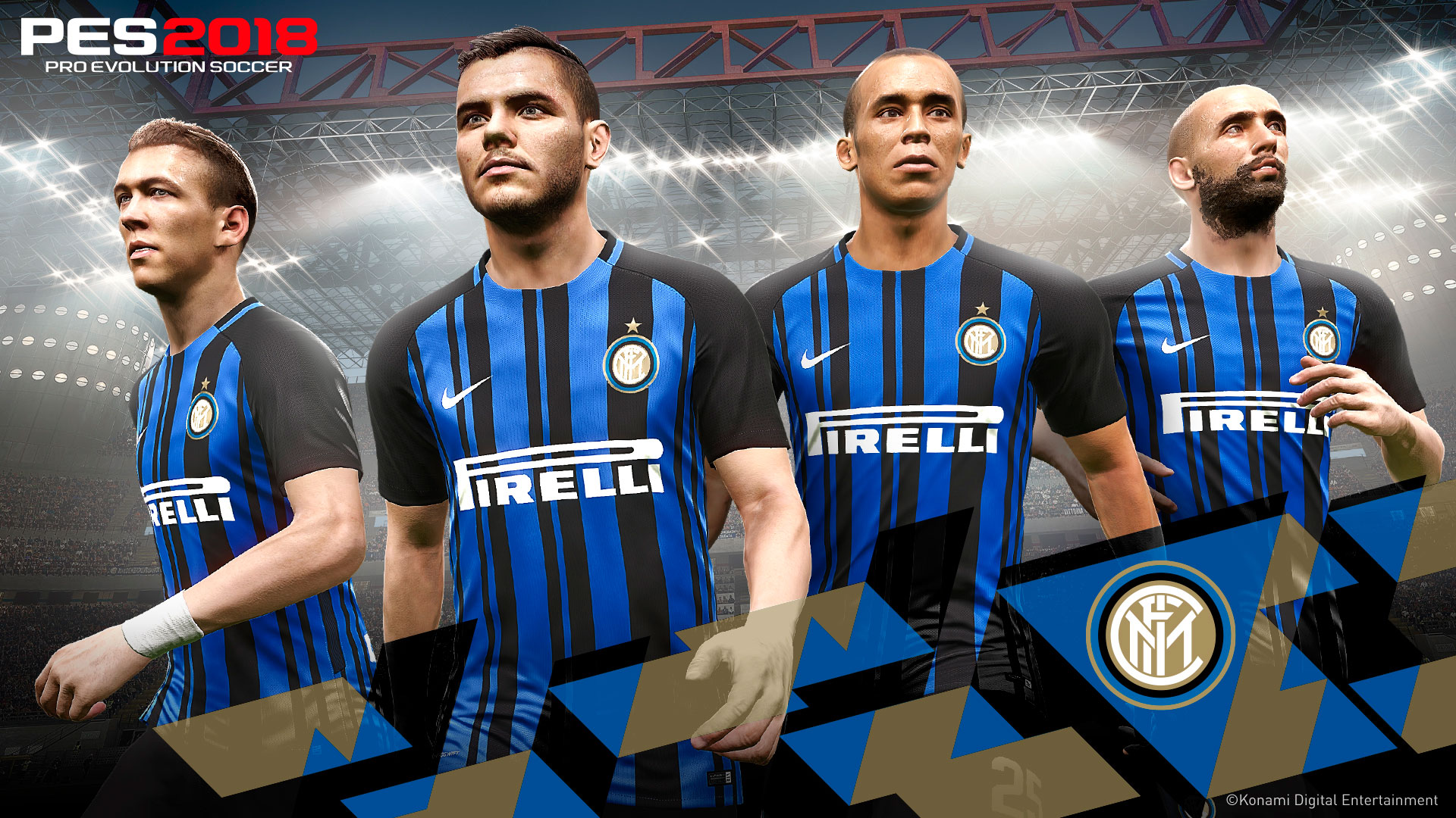 Konami y el Inter de Milán