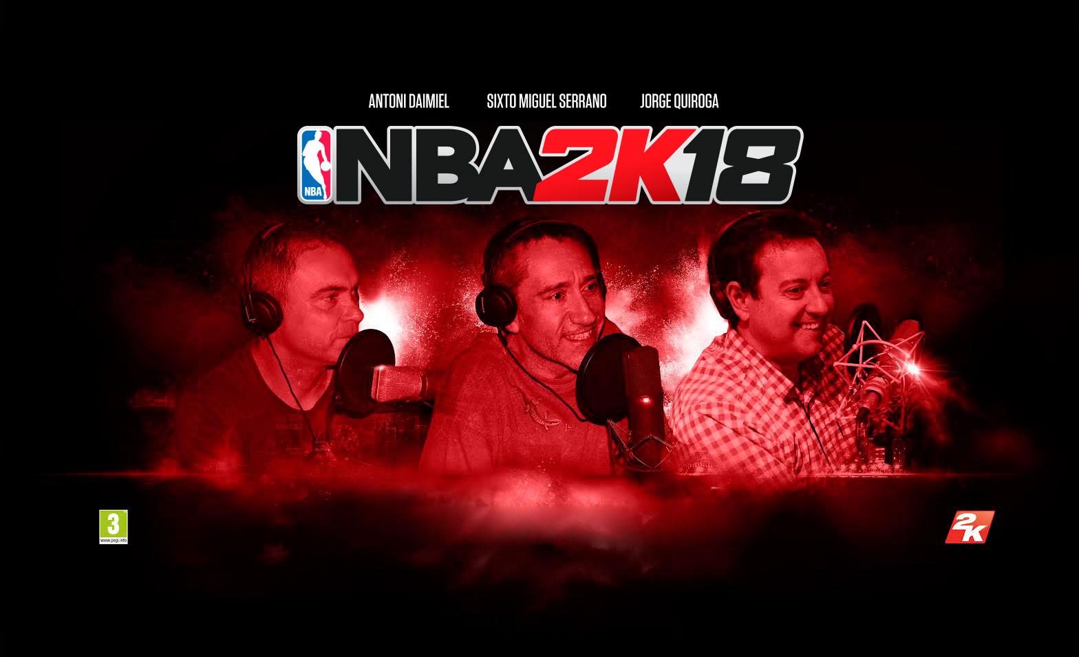 NBA 2K18 contará de nuevo con comentaristas en español