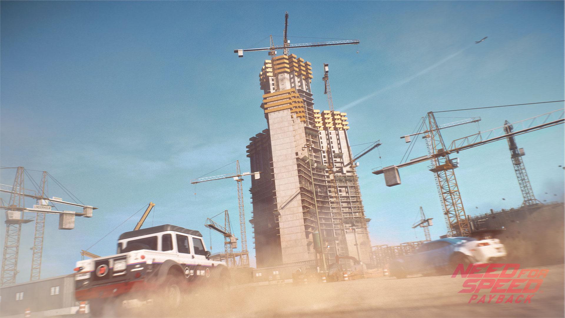 mundo abierto de Need For Speed Payback