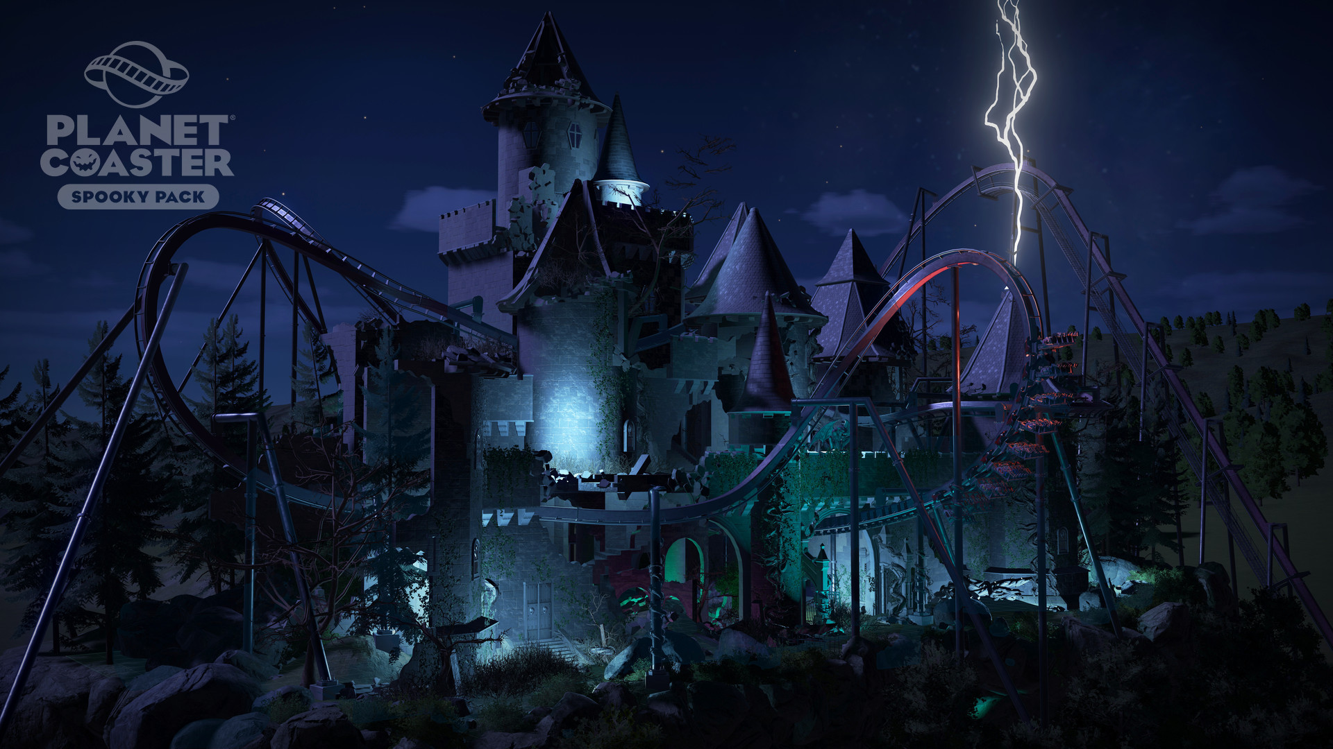 Spooky Pack - Planet Coaster