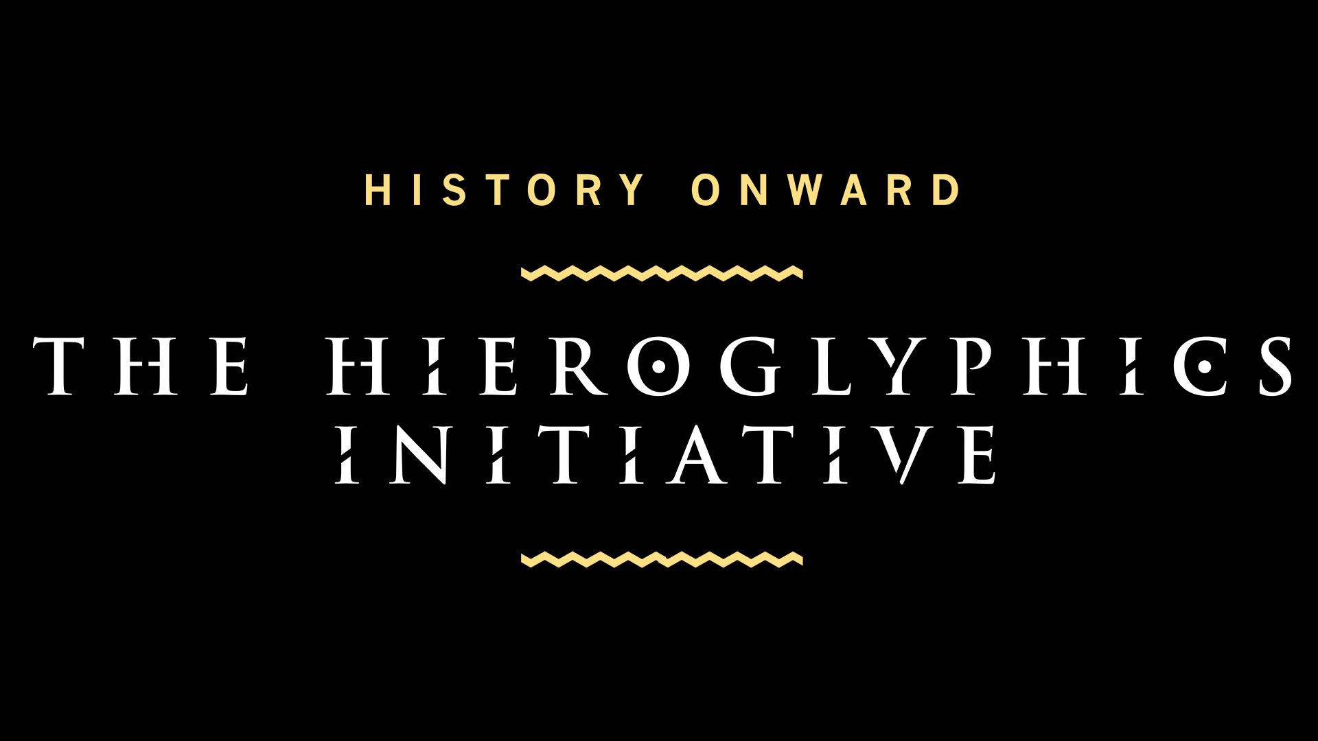 The Hieroglyphics Initiative