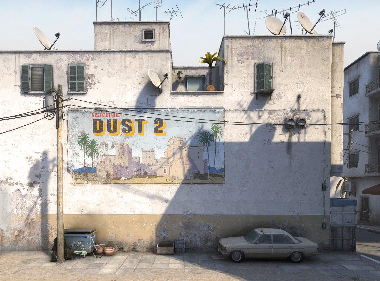 imagen del remake de Dust2
