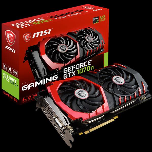 custom GeForce GTX 1070 Ti