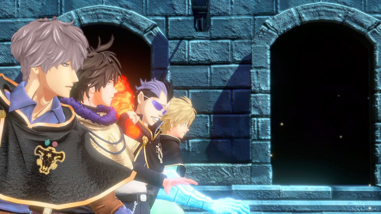 sistema de juego de Black Clover Quartet Knights