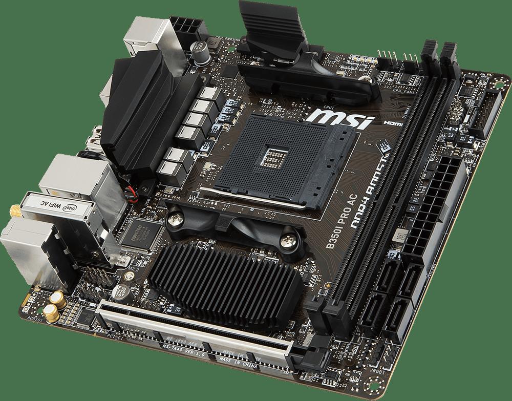 Mini-ITX B350I PRO AC