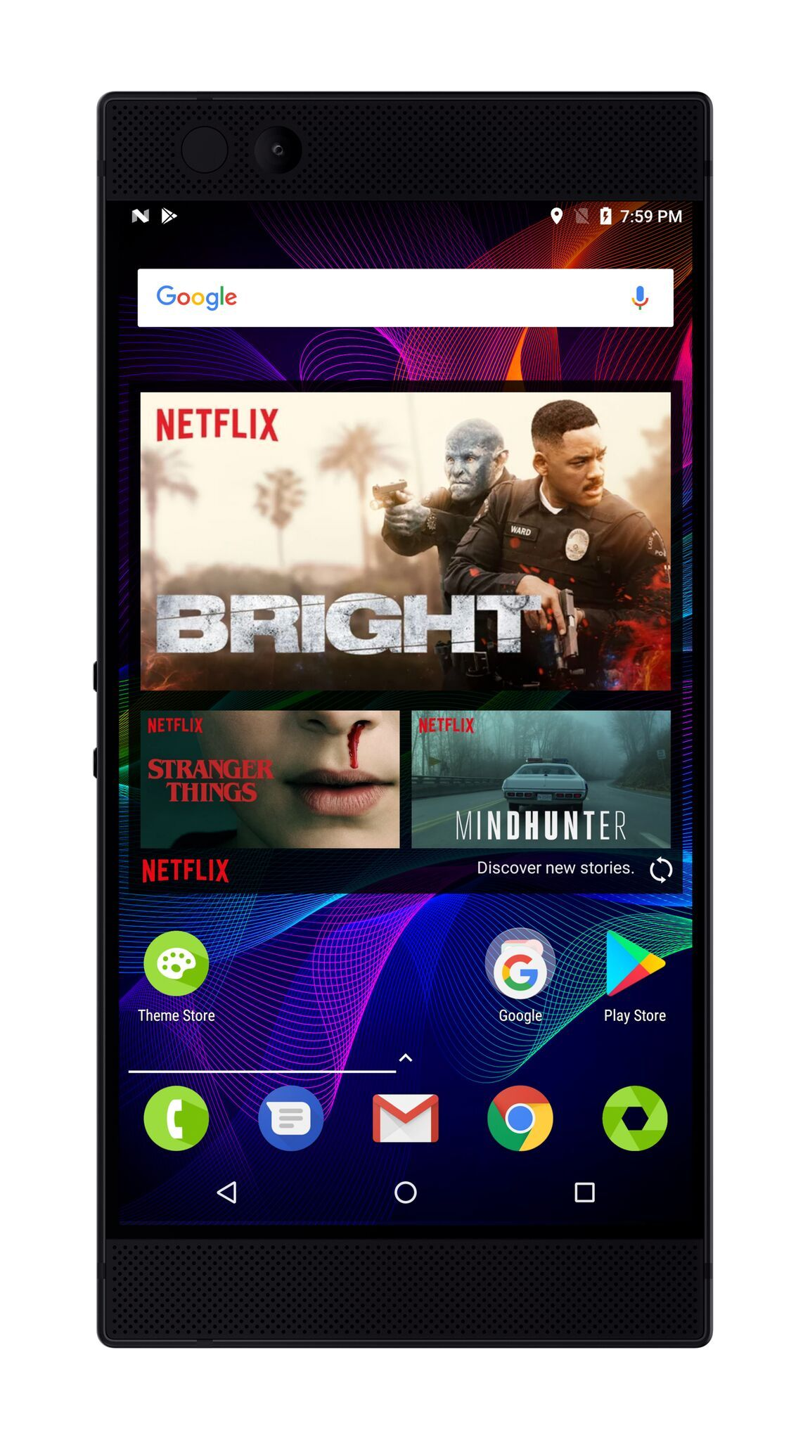 Razer Phone mostrará Netflix en HDR