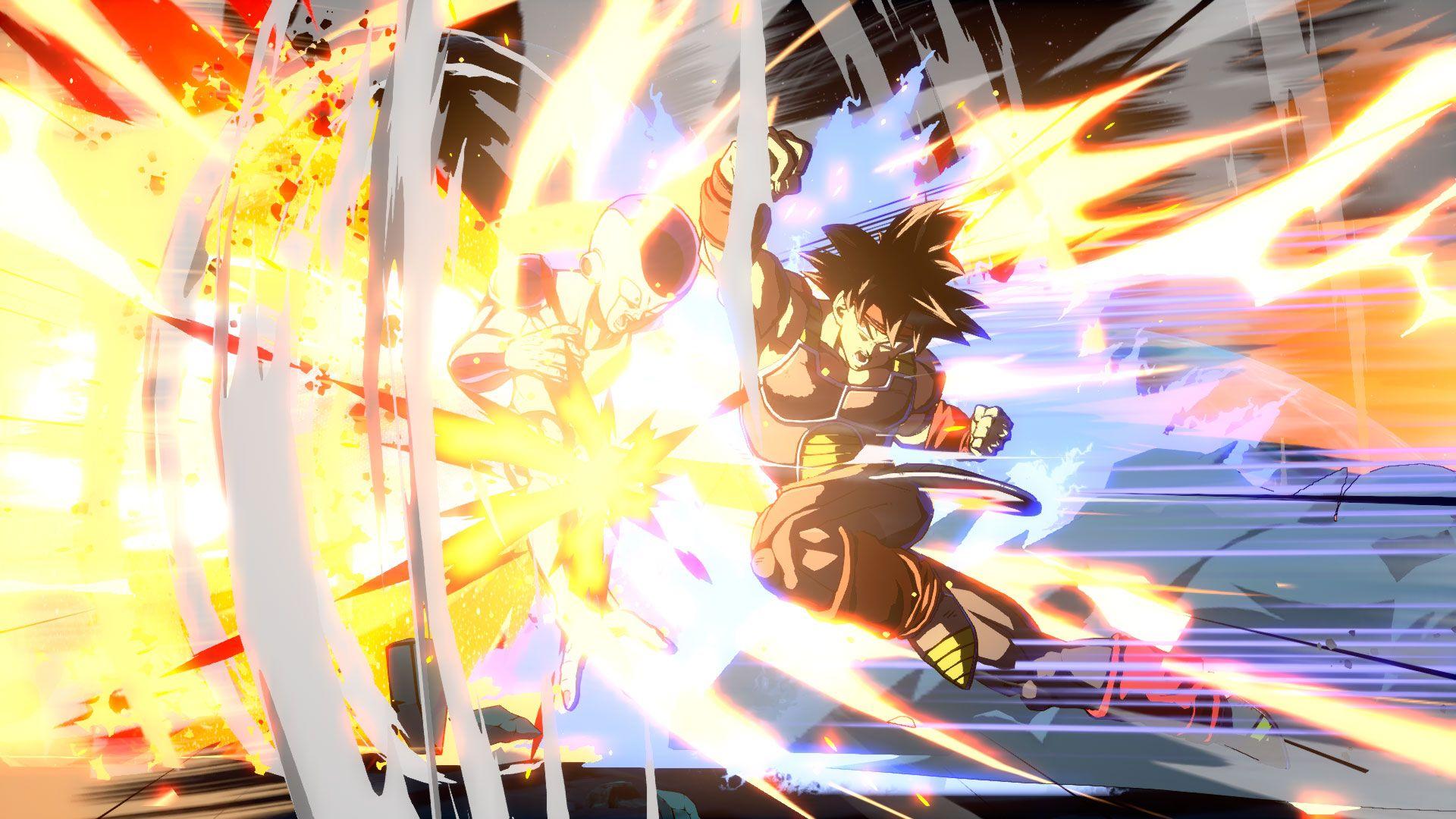 Dragon Ball FighterZ Brdock y Broly 4
