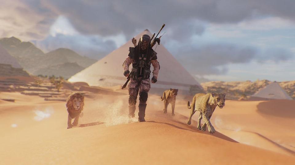 Assassin's Creed Origins: Animus Control Panel