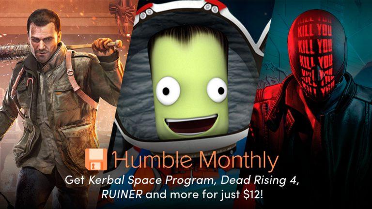Humble Monthly Bundle de mayo 2018