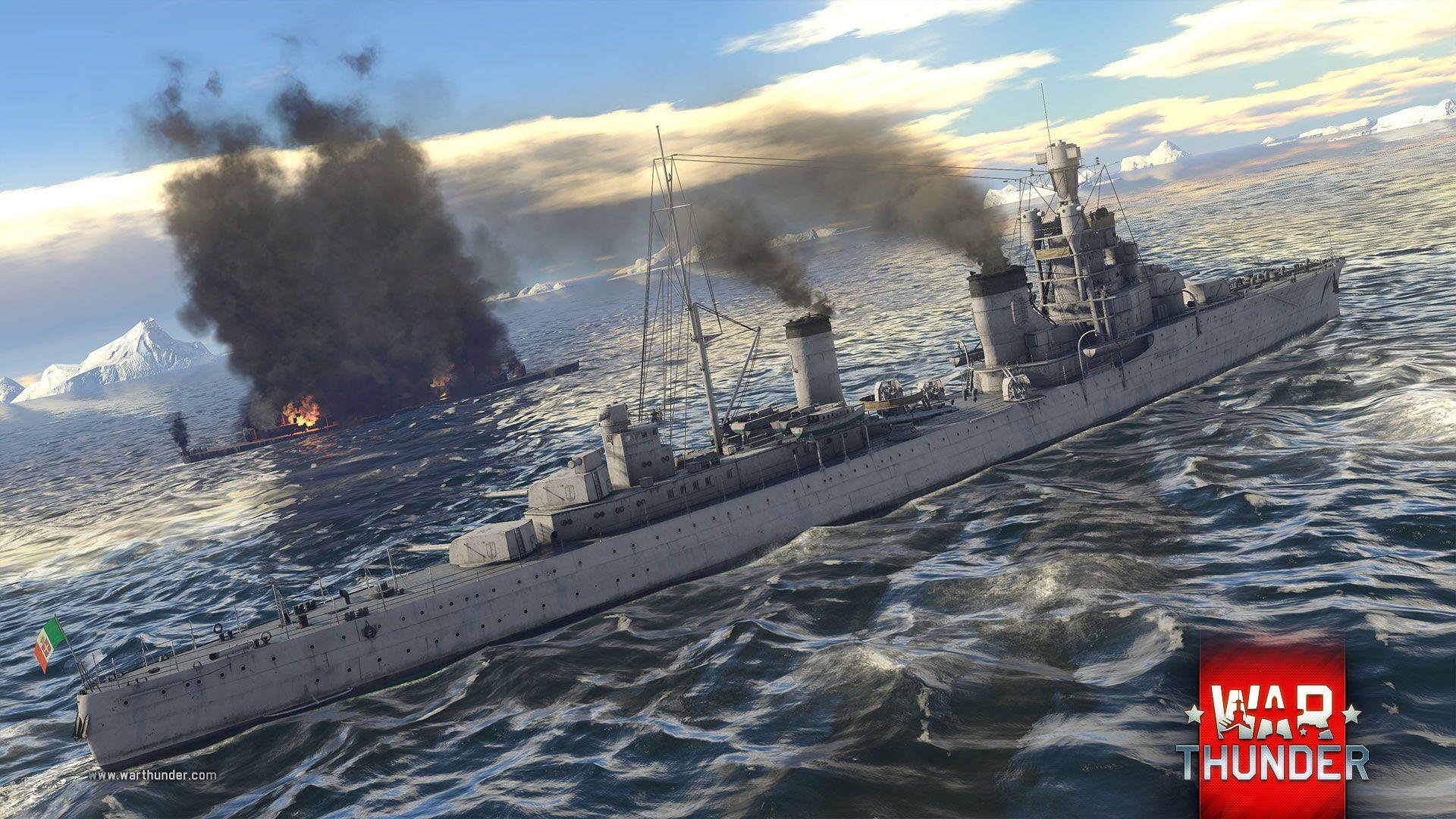 War Thunder Buques de Guerra 2