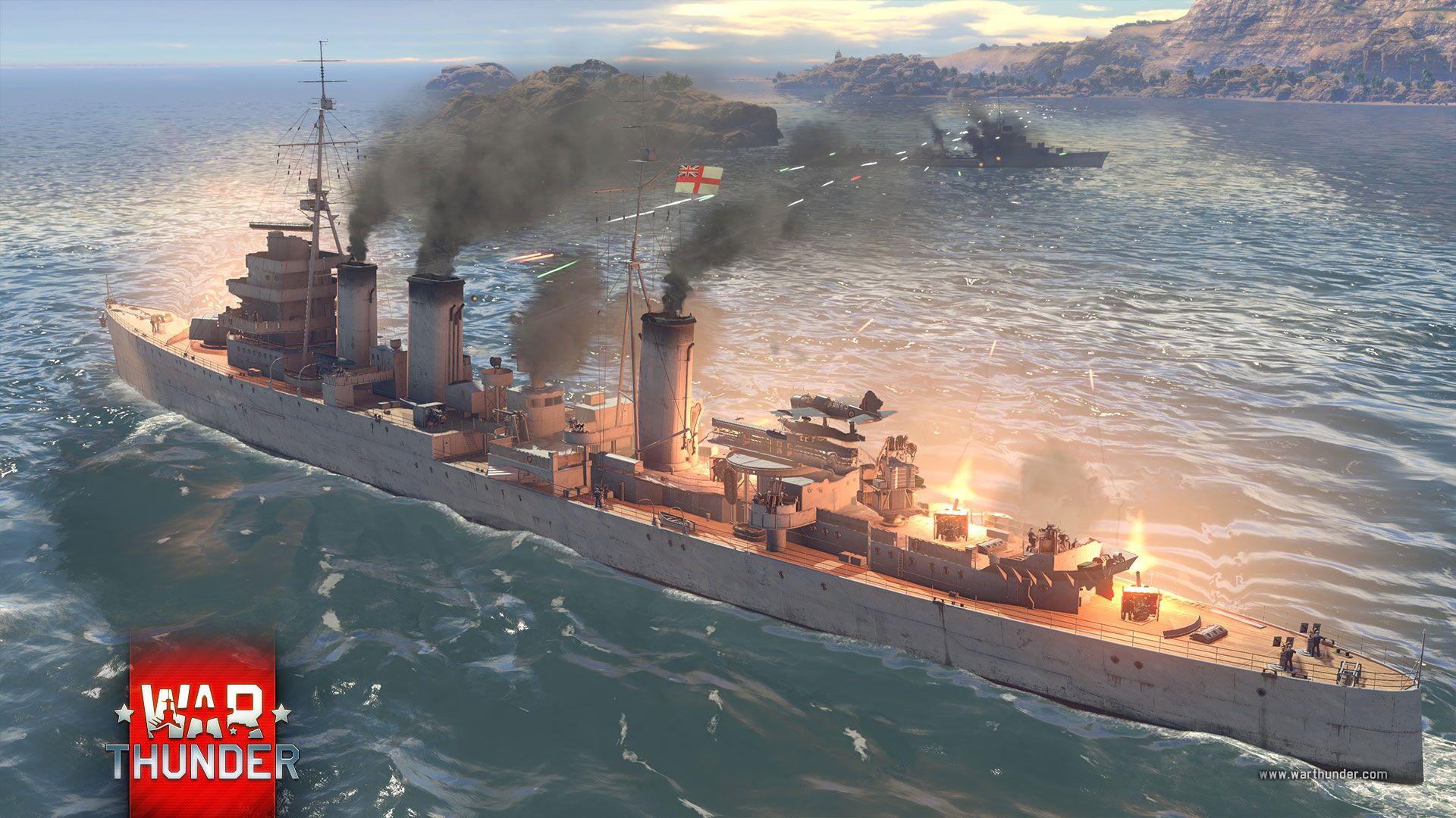 War Thunder Buques de Guerra 3