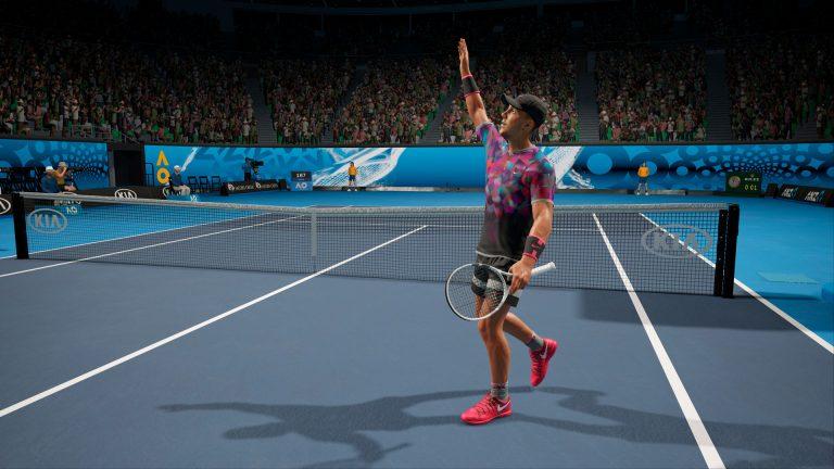 nueva actualización de AO International Tennis