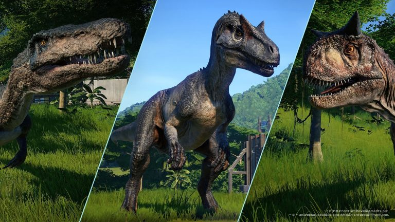 Fallen Kingdom de Jurassic World Evolution