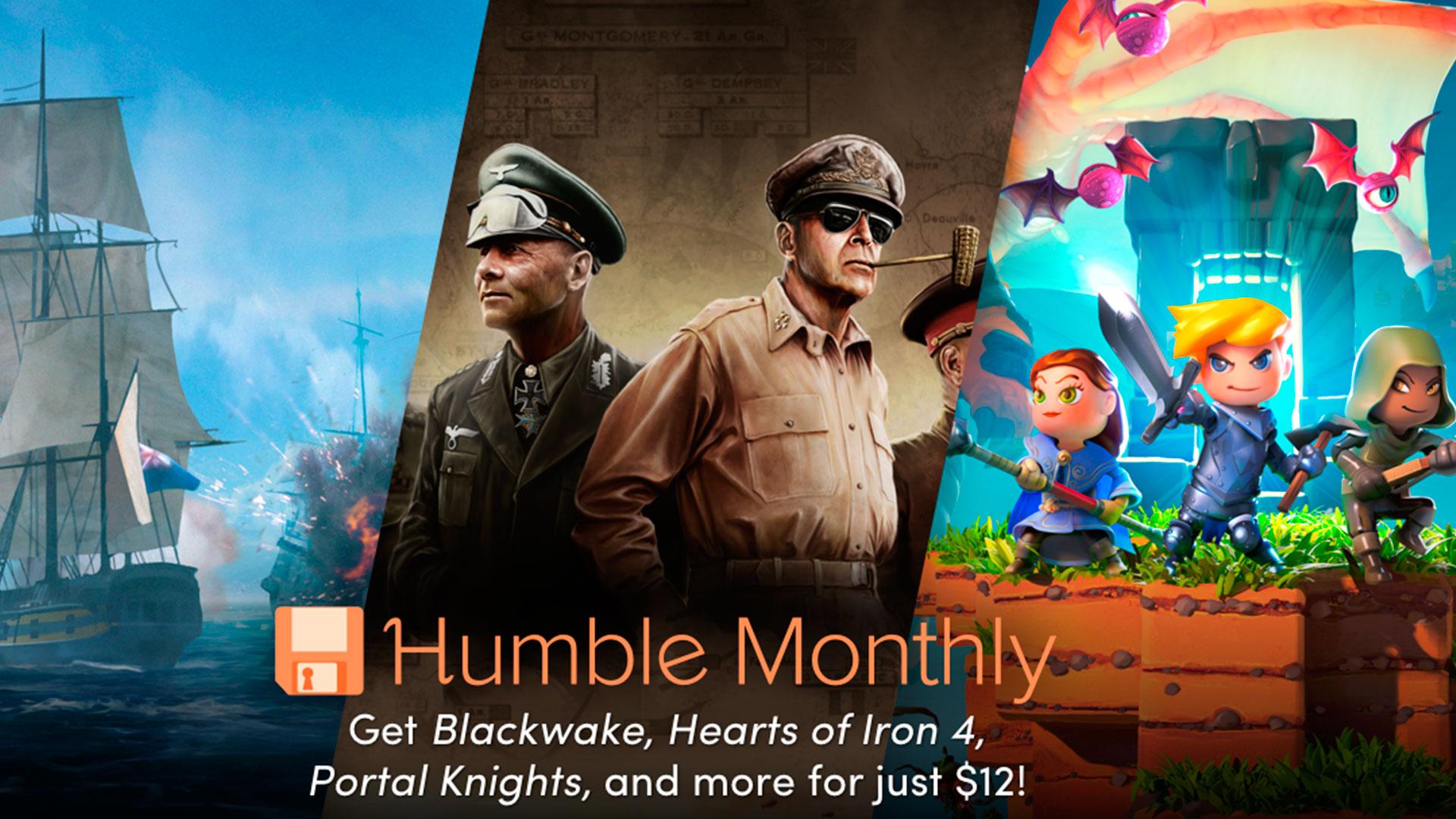 Humble Monthly Bundle Julio 2018
