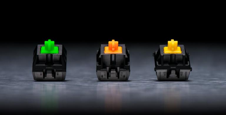 Switches mecánicos Razer