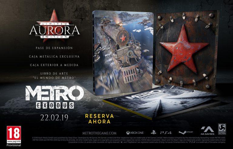 Metro Exodus - Edición Aurora