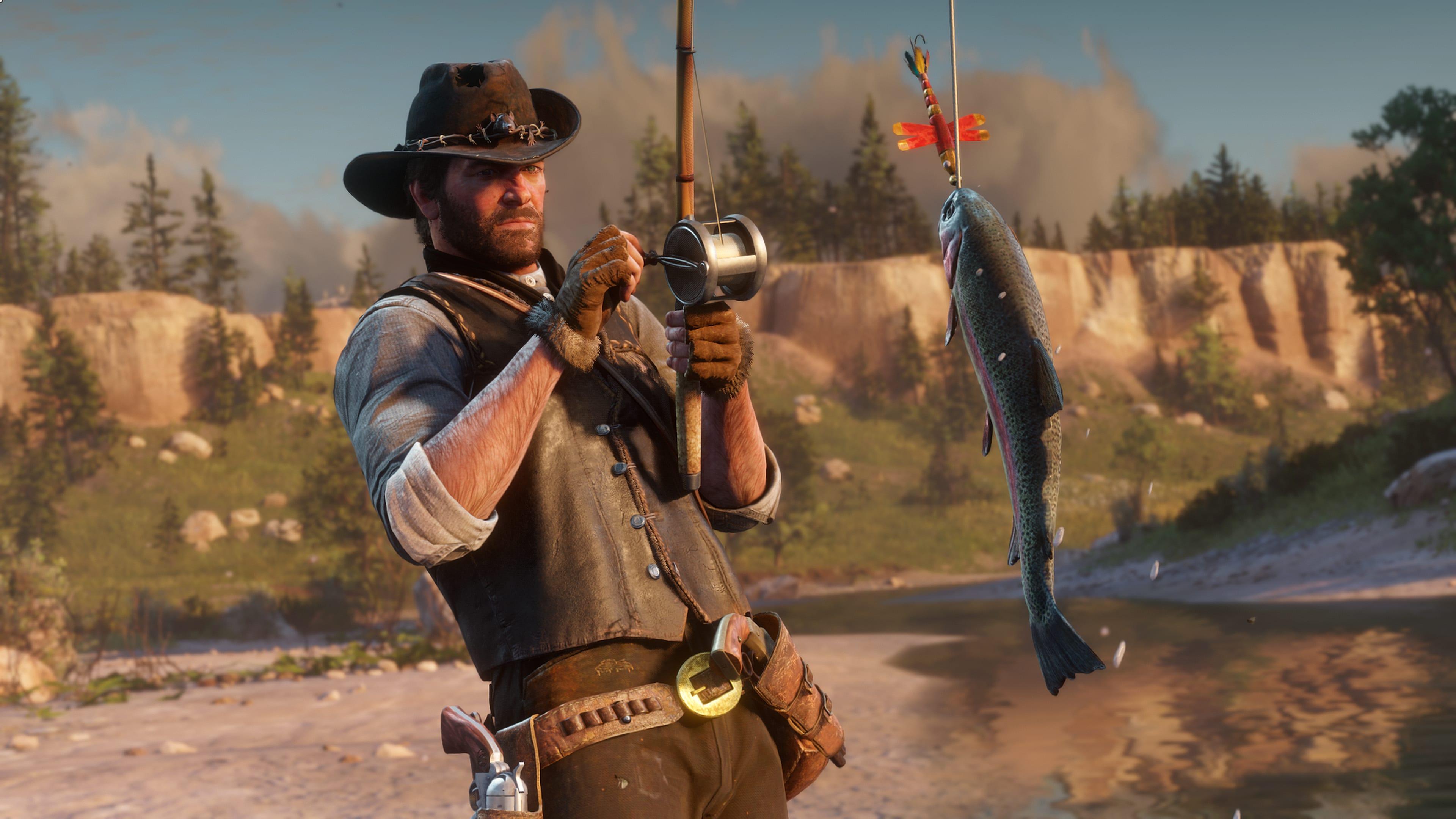 Red Dead Redemption 2 Caza y pesca 2