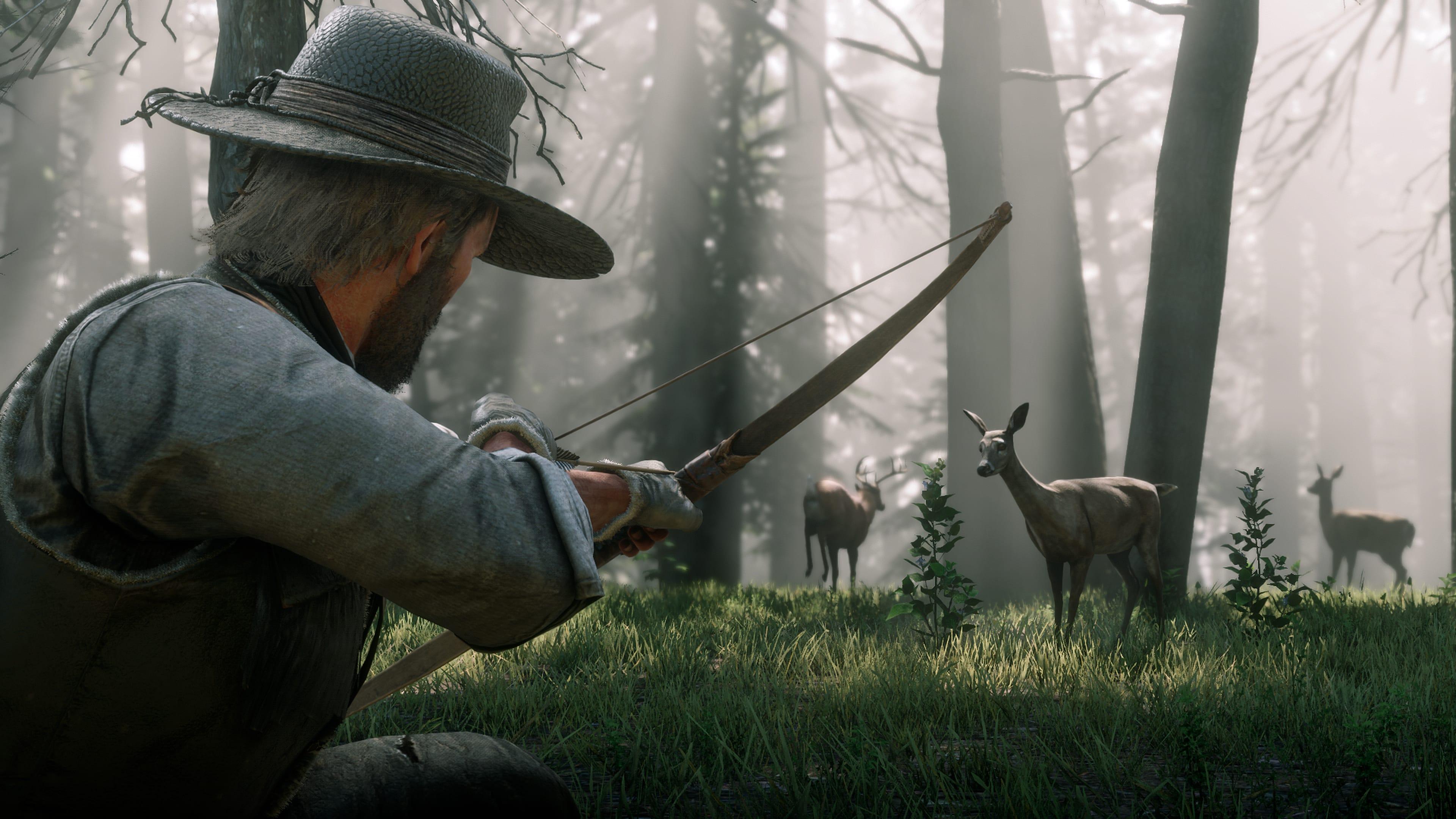 Red Dead Redemption 2 Caza y pesca 3