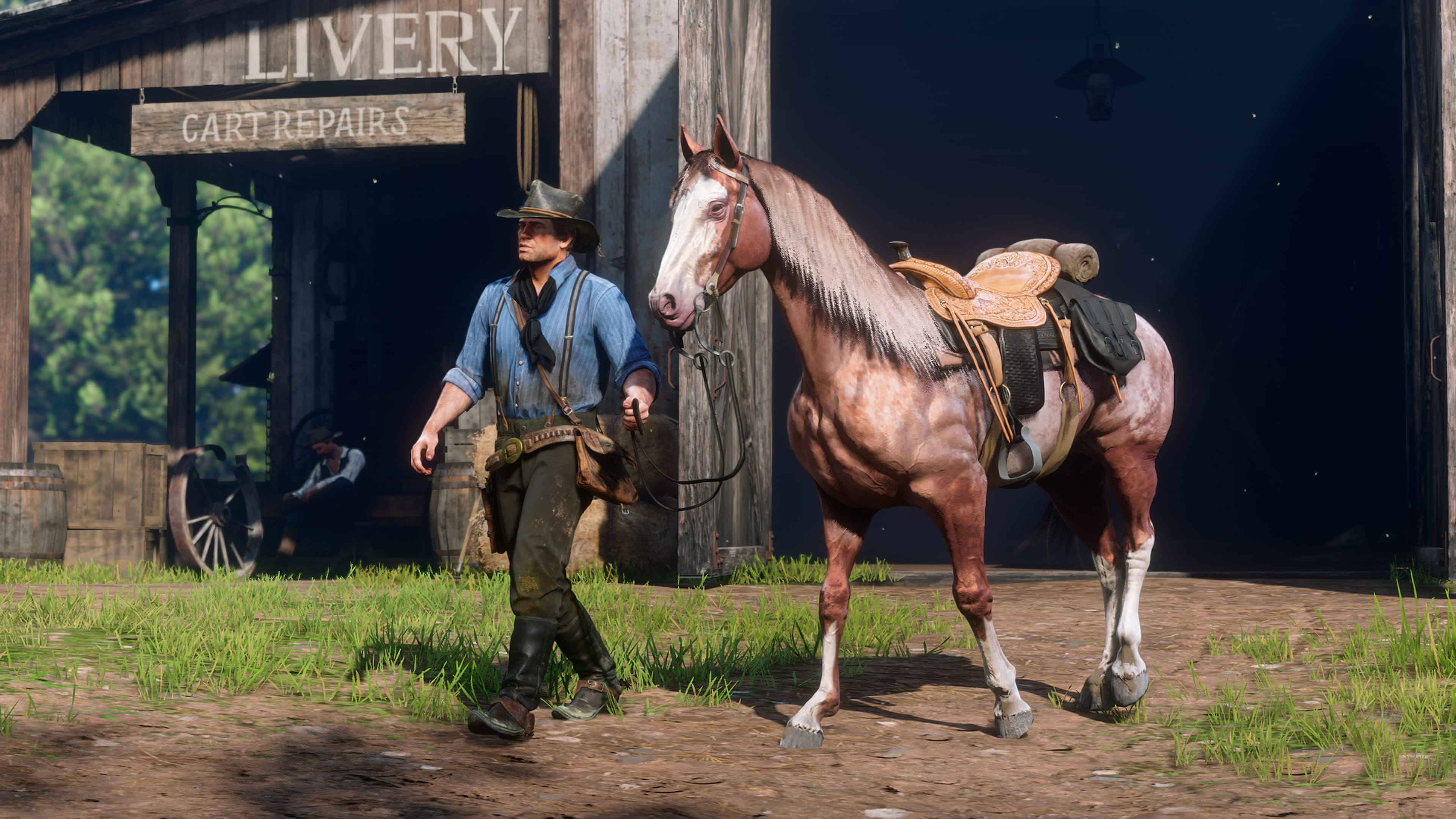 Red Dead Redepmtion 2 Caballos 1