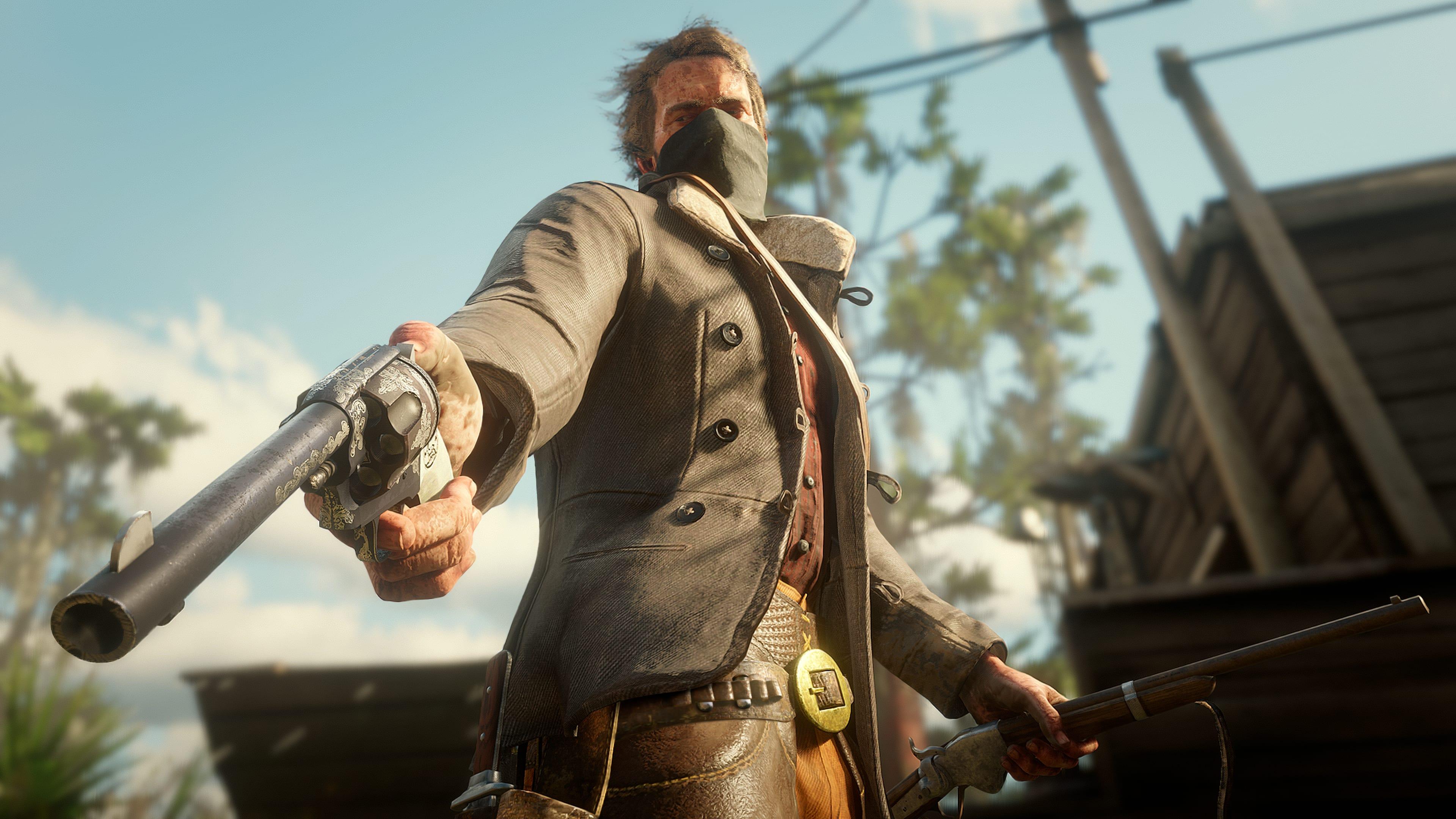 Red Dead Redemption 2 personalización de armas 1