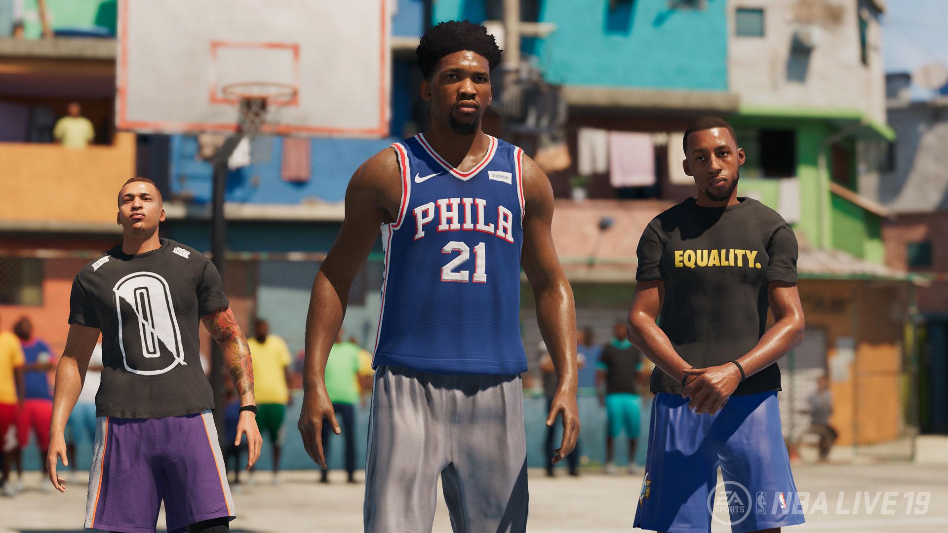NBA LIVE 19 Squad