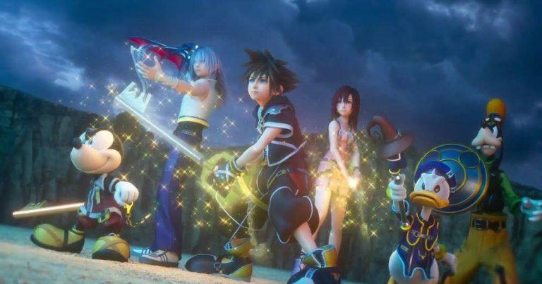 Kingdom Hearts III Open