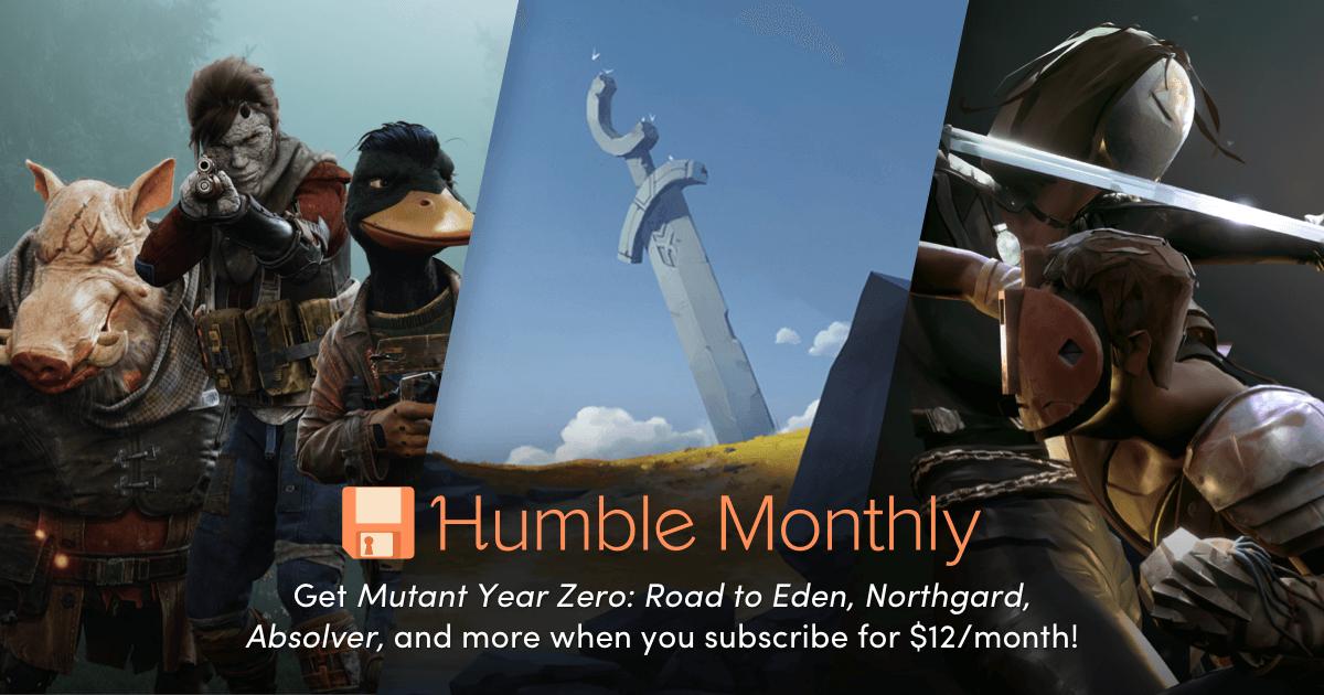 Humble Monthly Bundle de abril 2019